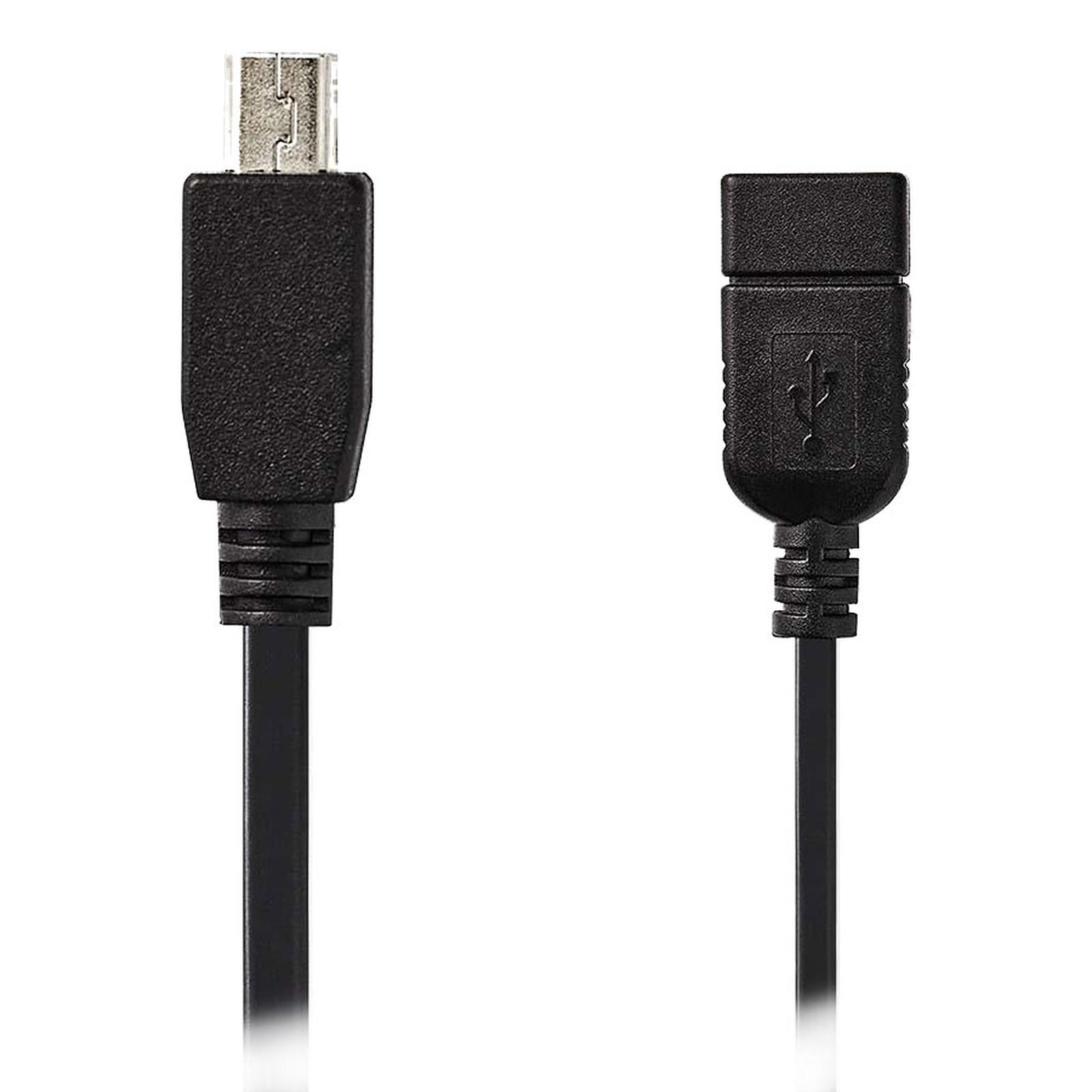 Nedis Cable USB/Mini USB OTG - 0,2 m
