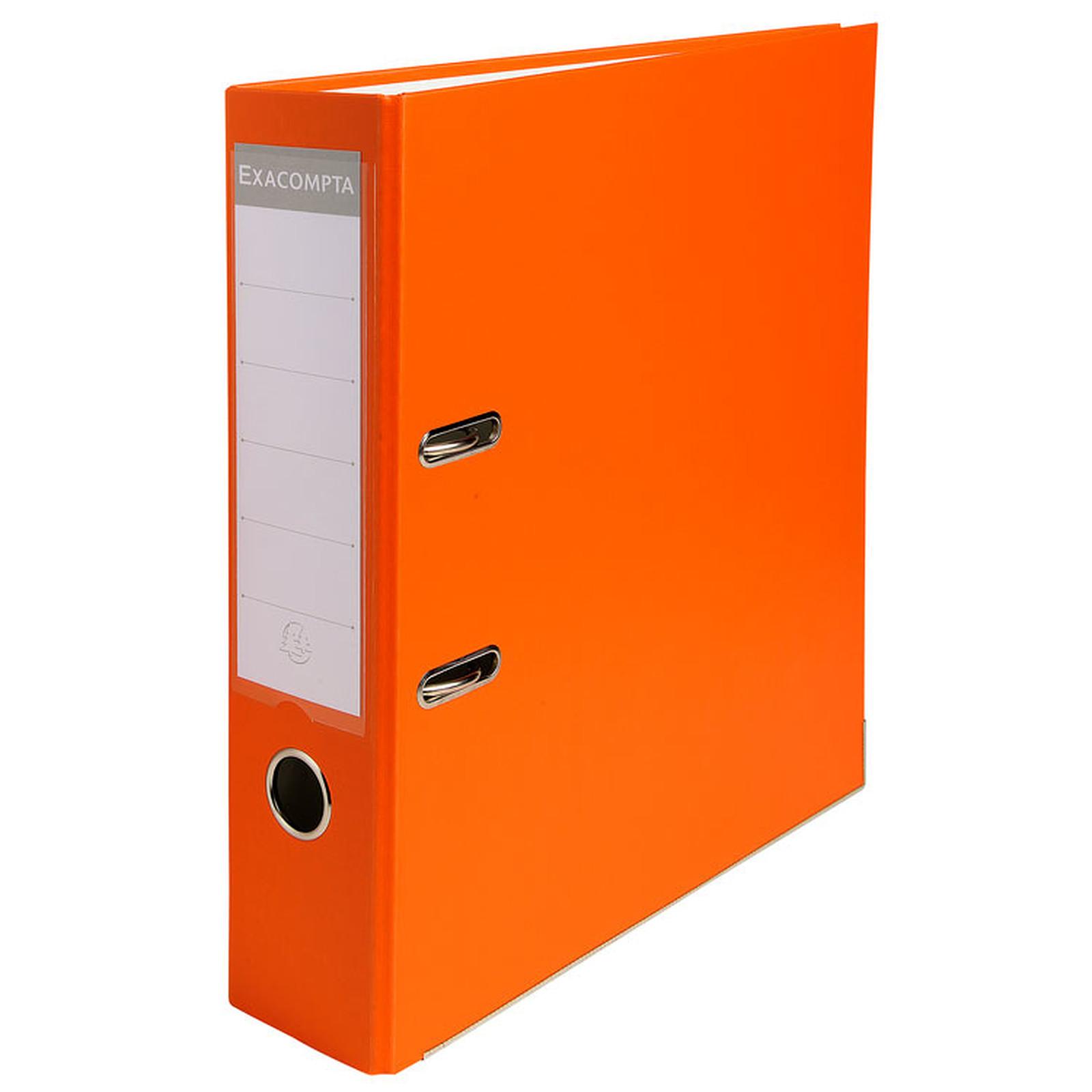 Exacompta Classeur à levier 80mm Orange
