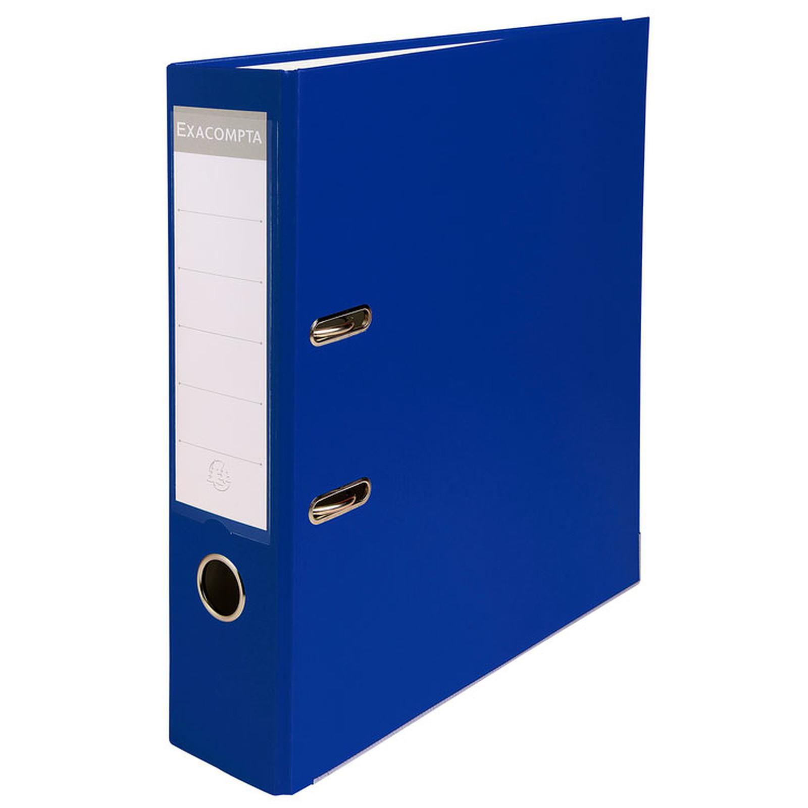 Exacompta Classeur à levier 80mm Bleu