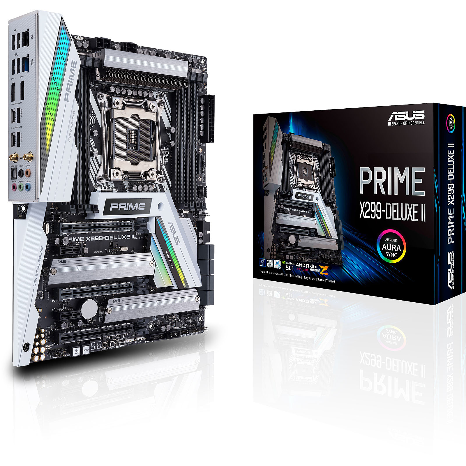 ASUS PRIME X299-DELUXE II · Occasion