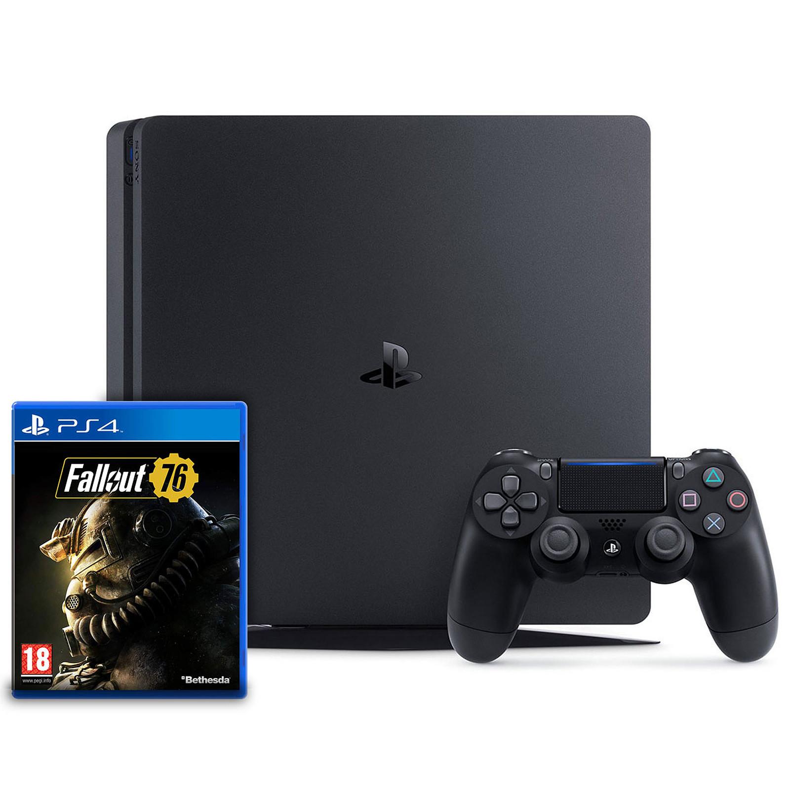 Sony PlayStation 4 Slim (500 Go) + Fallout 76
