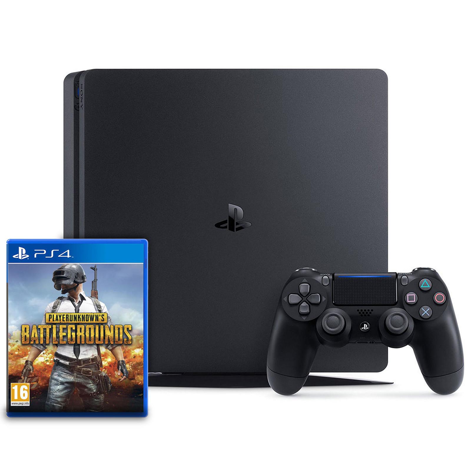 Sony PlayStation 4 Slim (500 Go) + PLAYERUNKNOWN'S BATTLEGROUNDS (PUBG)