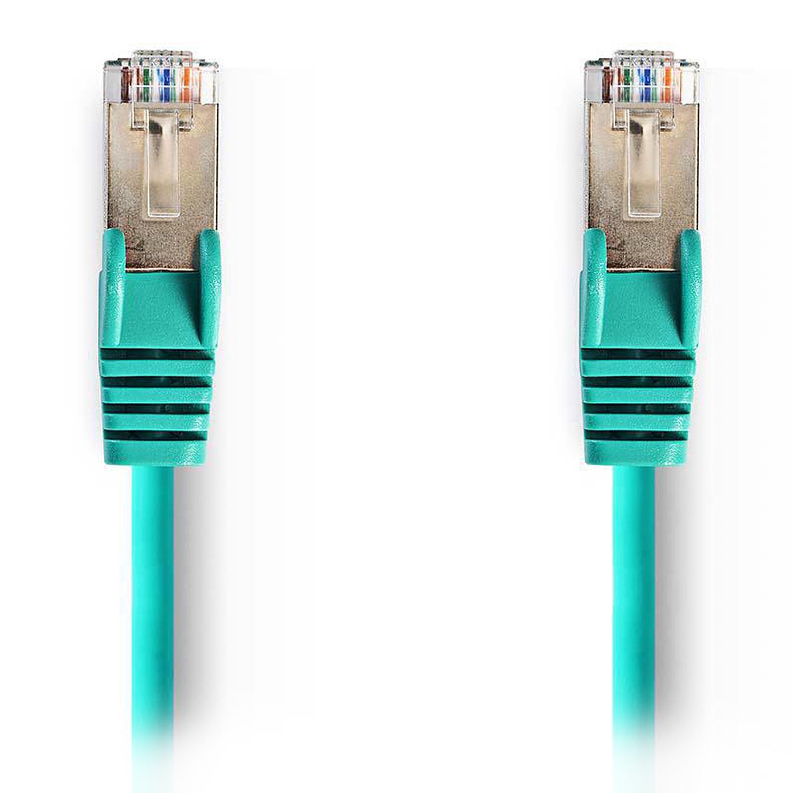 Nedis RJ45 categoría de cable 5e SF/UTP 1,5 m (Verde)