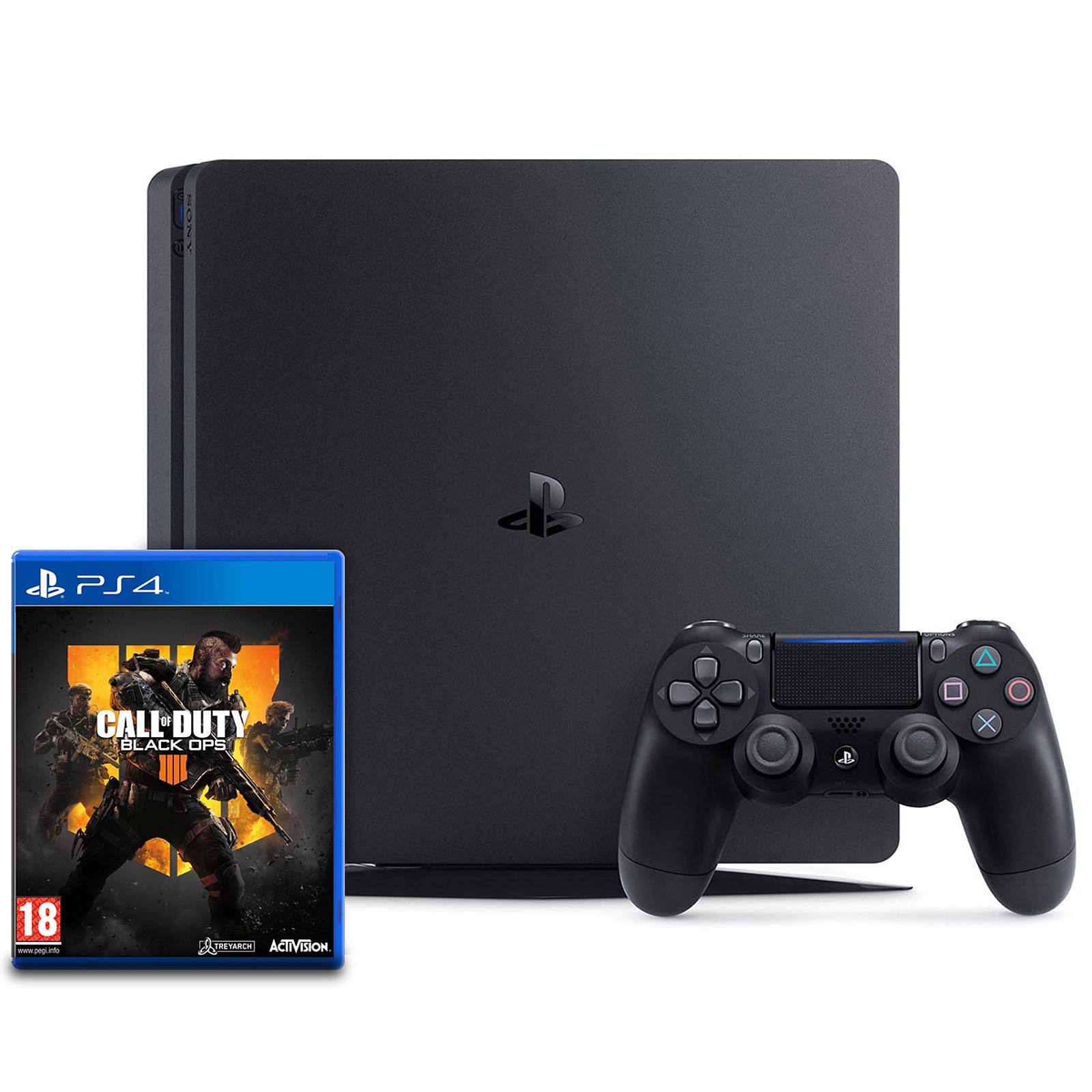 Sony PlayStation 4 Slim (500 Go) + Call of Duty : Black Ops 4