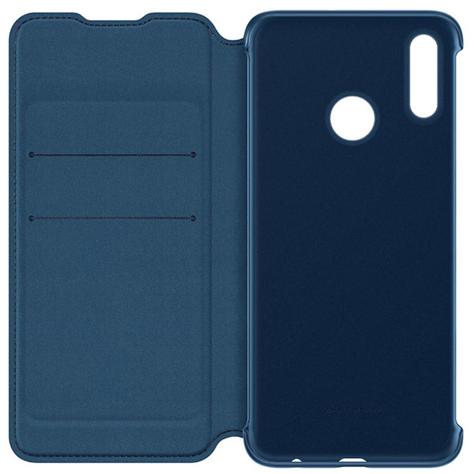 Huawei Wallet Flip Bleu Huawei P Smart 2019