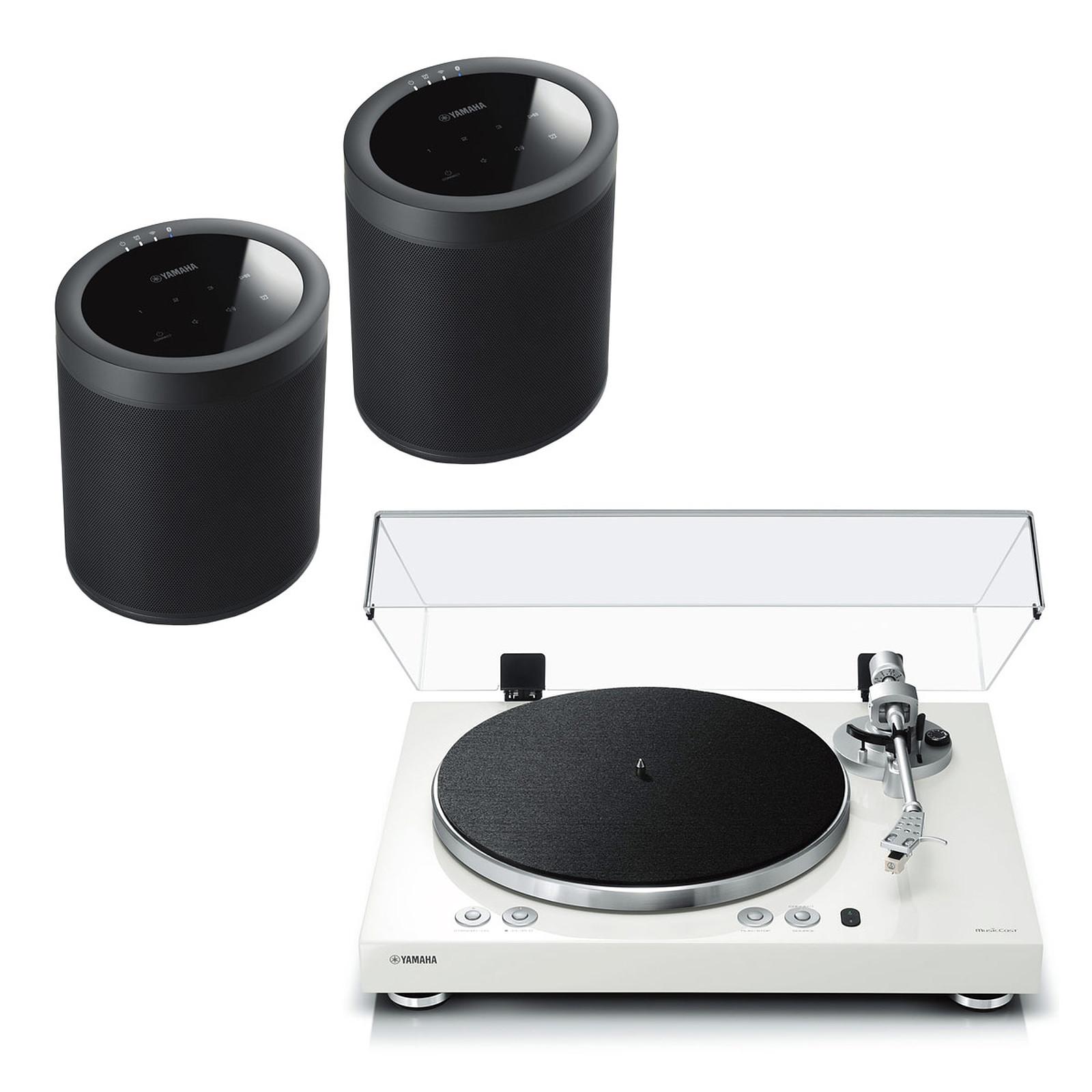 Yamaha MusicCast VINYL 500 Blanc + Yamaha MusicCast 20 Noir