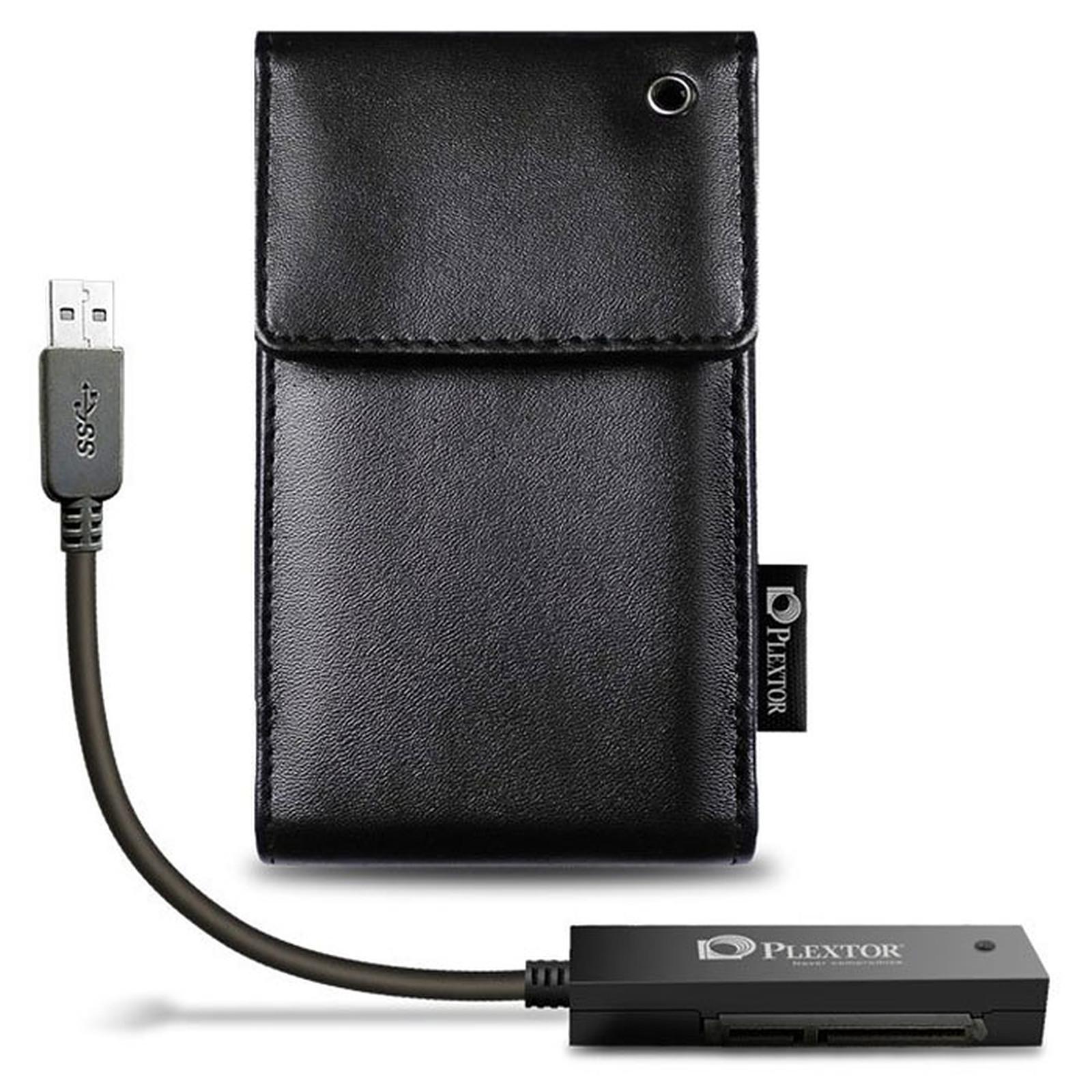 """Plextor Converter USB 3.0 SSD/HDD 2.5"""" + Étui"""