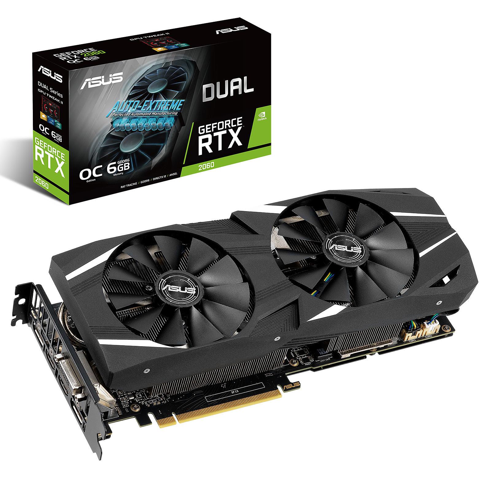 ASUS GeForce RTX 2060 DUAL-RTX2060-O6G