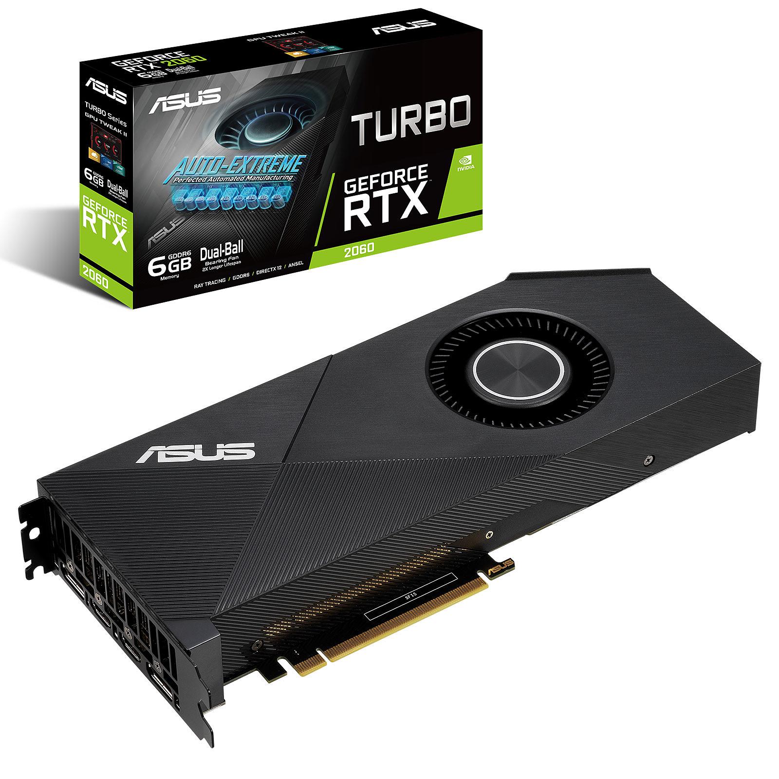 ASUS GeForceRTX 2060 TURBO-RTX2060-6G