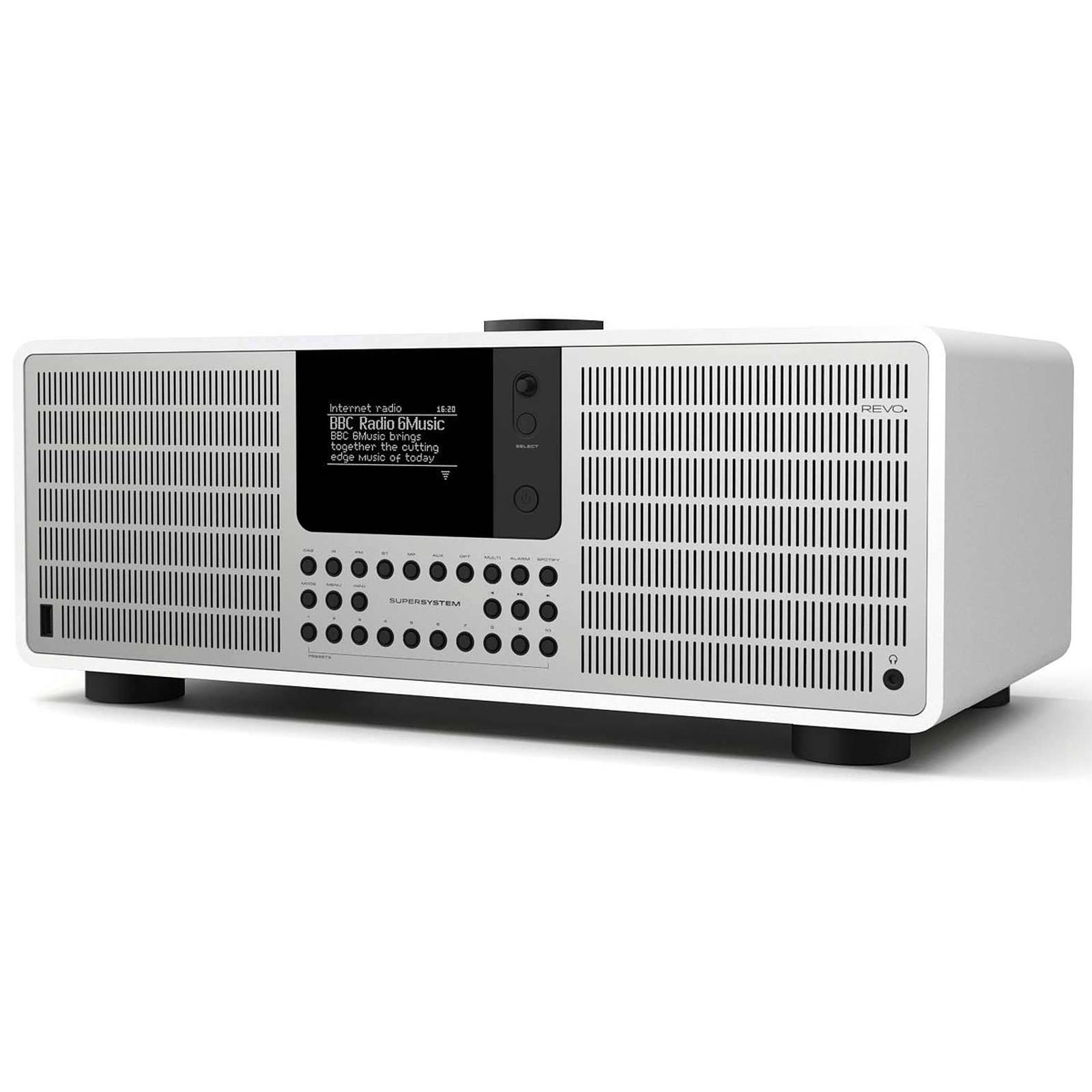Revo SuperSystem Blanc Mat/Argent
