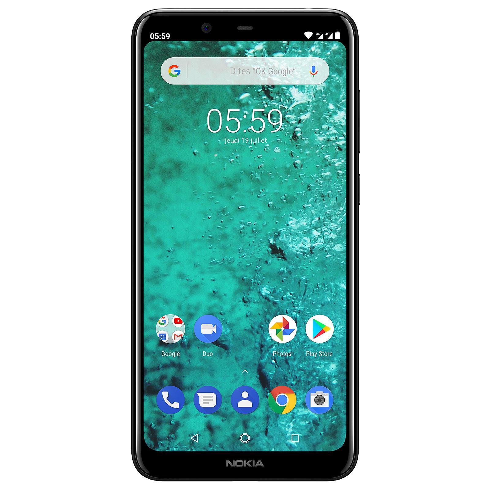 Nokia 5.1 Plus Dual SIM Noir