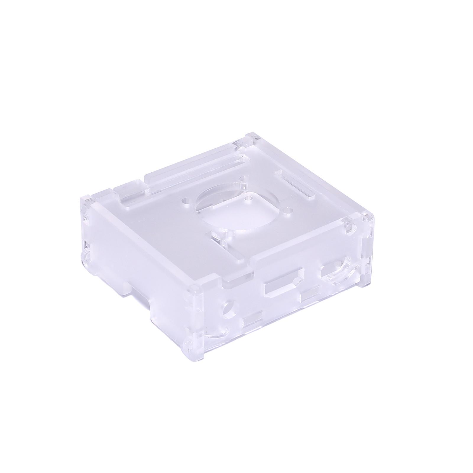Boitier pour Raspberry Pi 3 A+ avec support Ventilateur (Transparent)