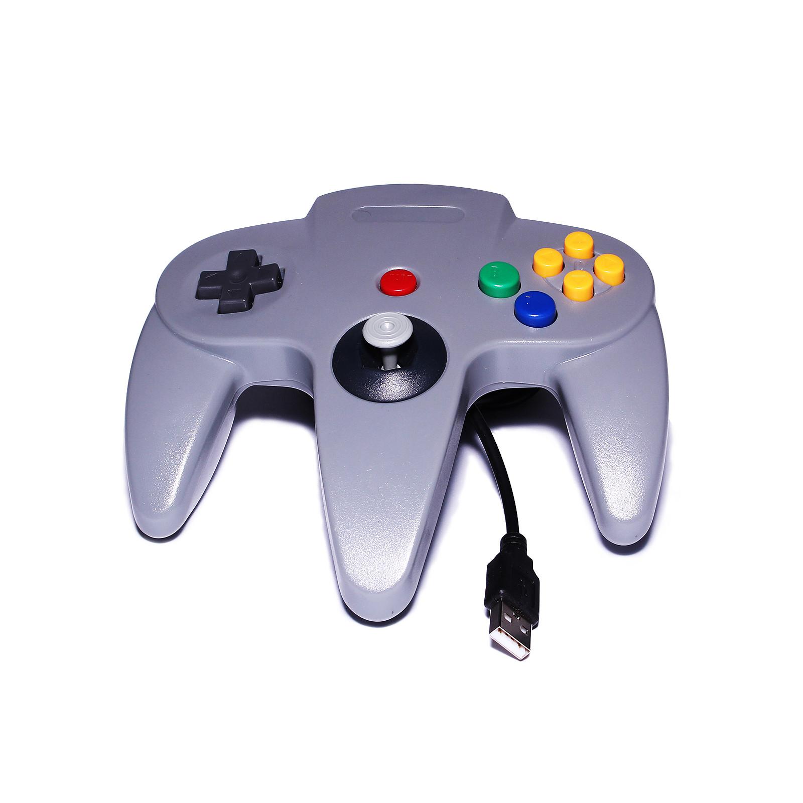 Manette USB pour rétrogaming (Nintendo 64)