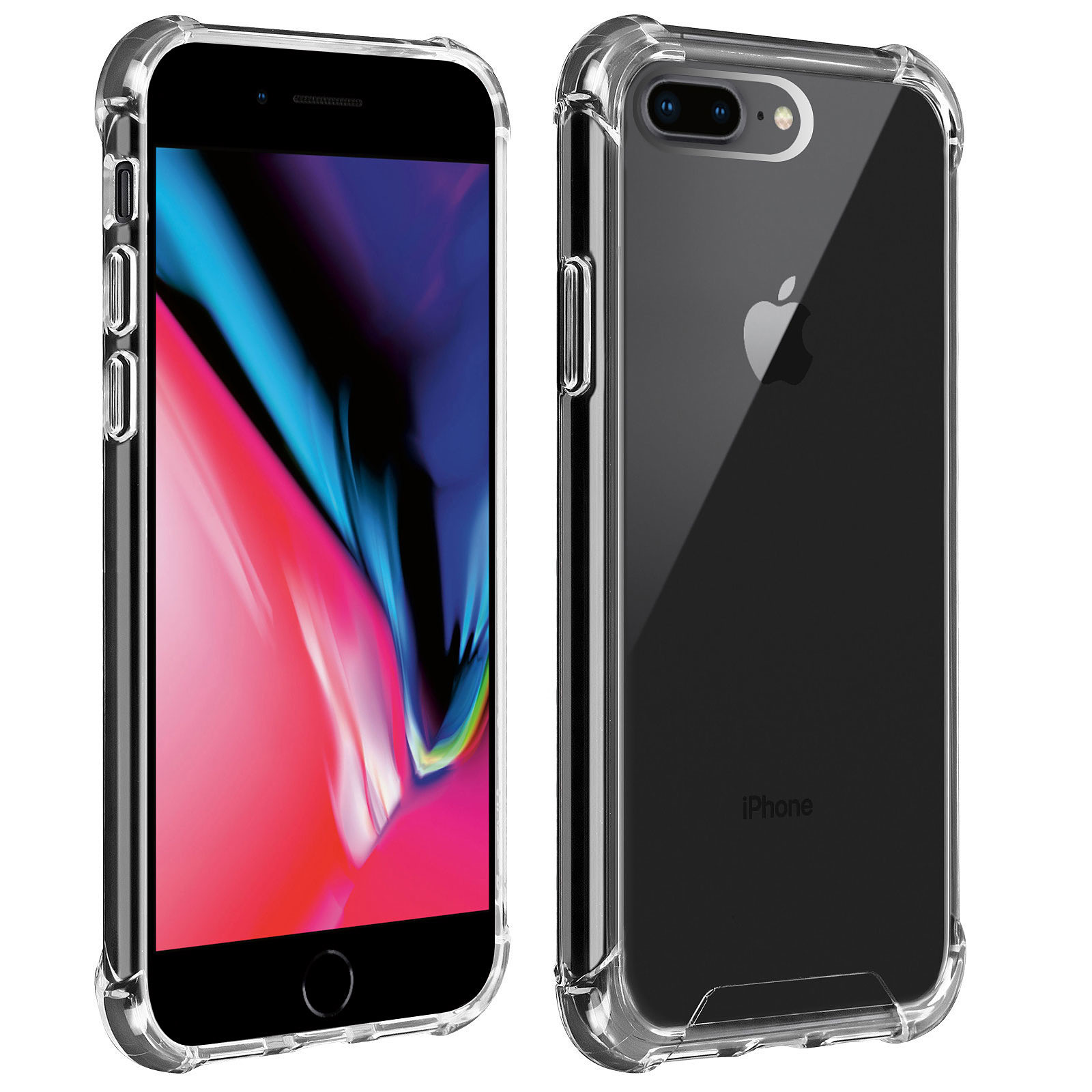 Akashi Coque TPU Angles Renforcés Apple iPhone 7 / 8 Plus