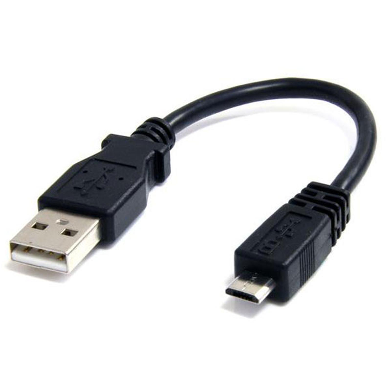 Startech Com Câble Micro Usb A Vers Micro Usb B Usb 2 0 15 Cm Noir Câble Adaptateur Startech Com Sur Ldlc