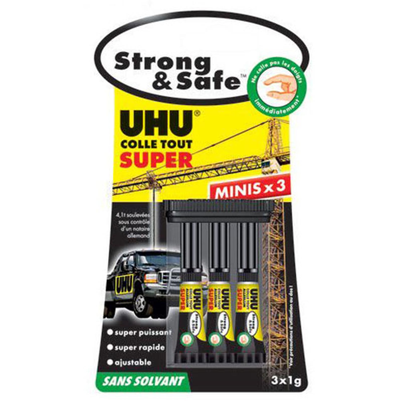 UHU Strong & Safe Minis