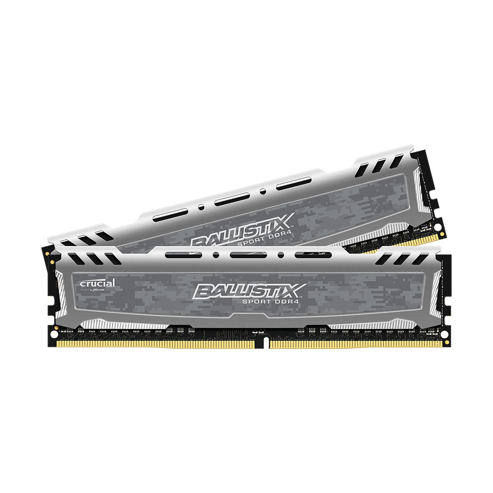 Ballistix Sport 8 Go (2 x 4 Go) DDR4 2666 MHz CL16
