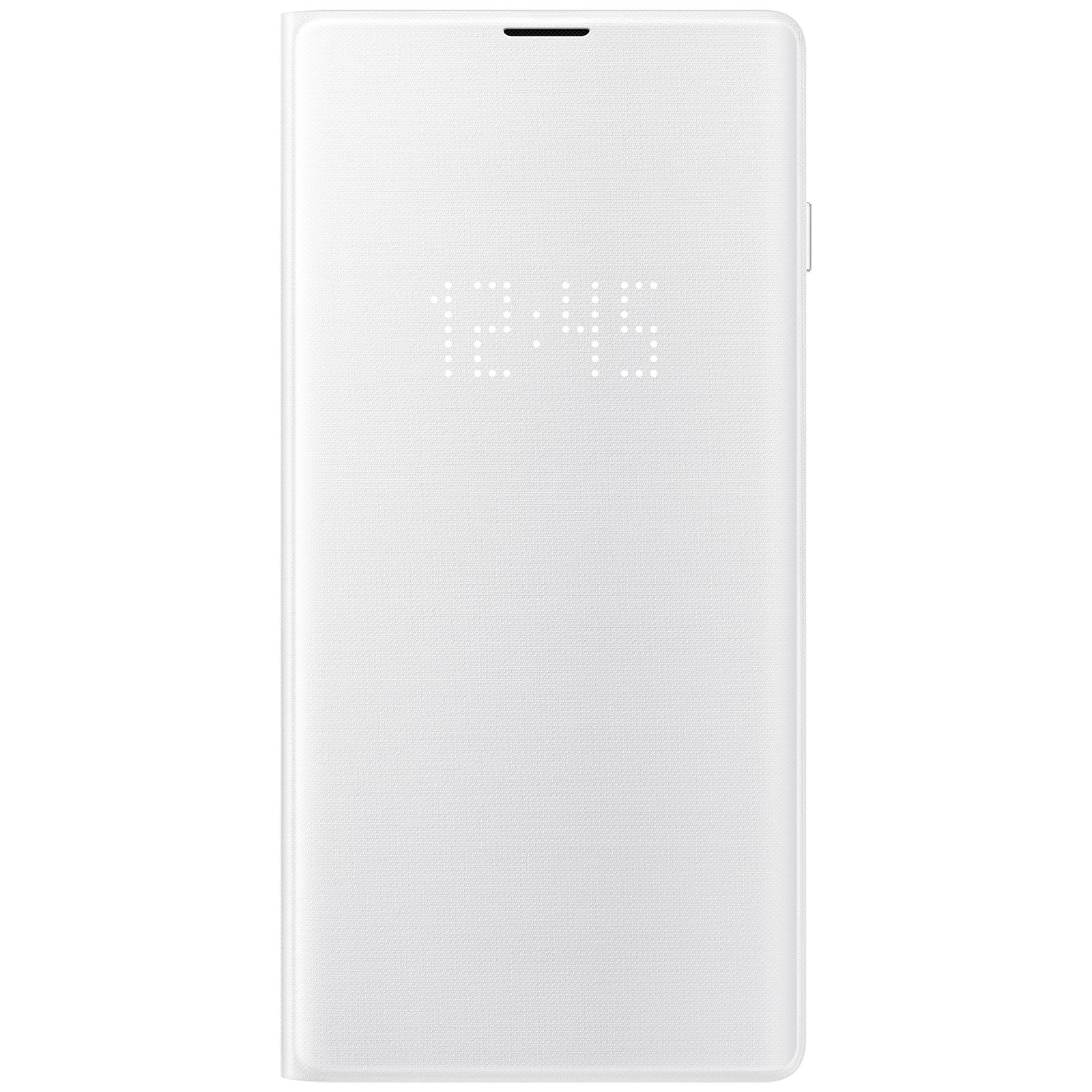 Samsung LED View Cover Blanco Galaxy S10