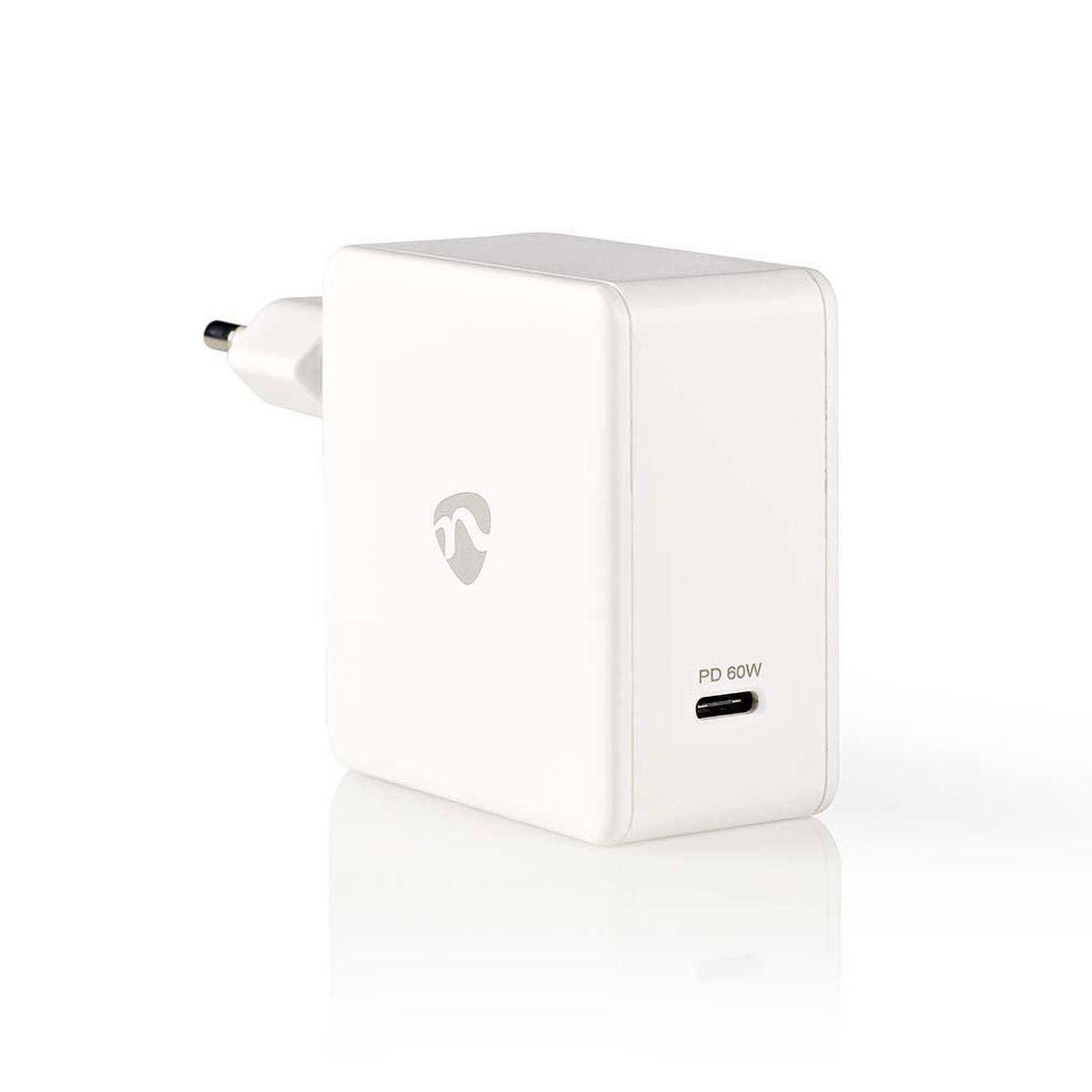 Nedis Chargeur mural USB-C 60W (Blanc)