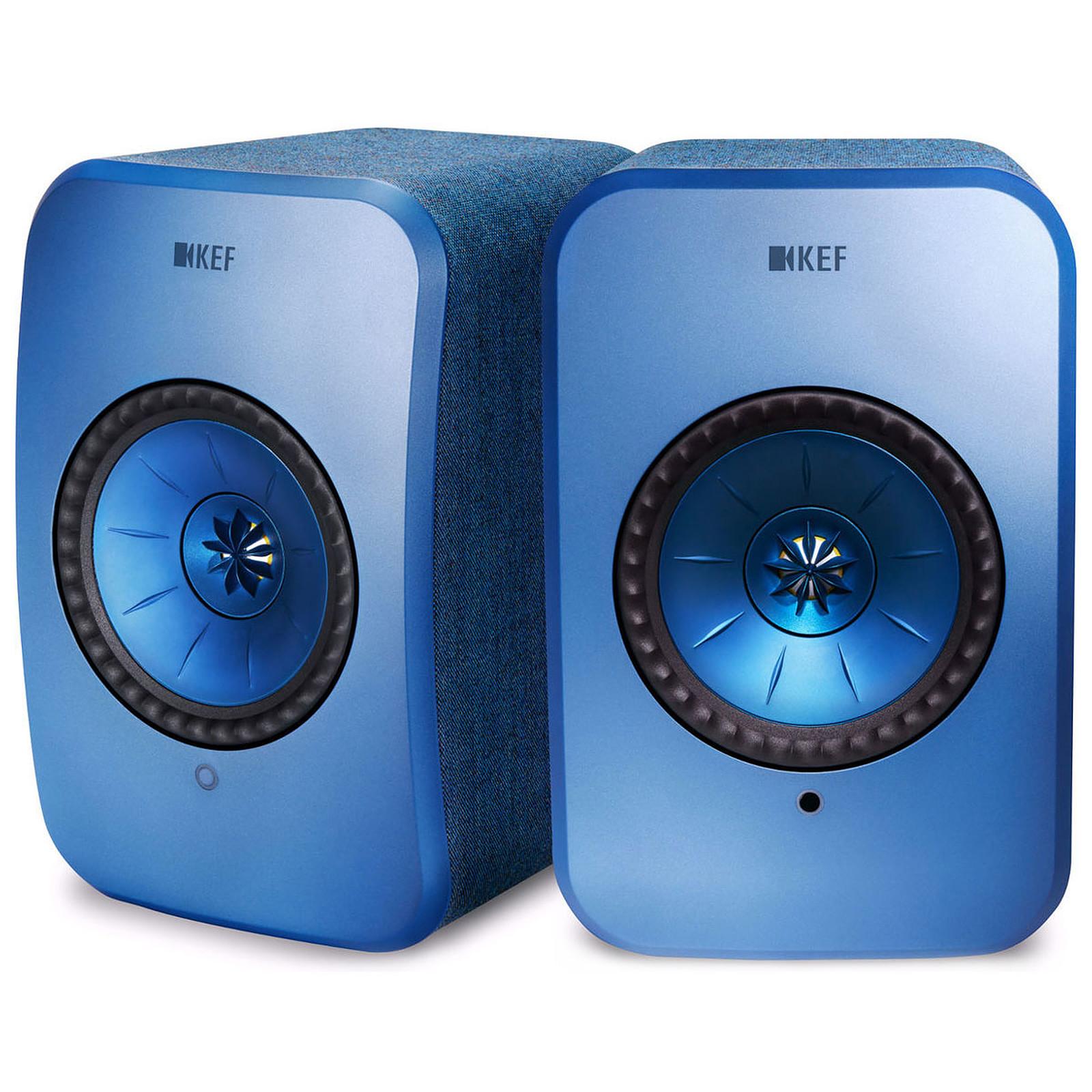 KEF LSX Wireless Bleu