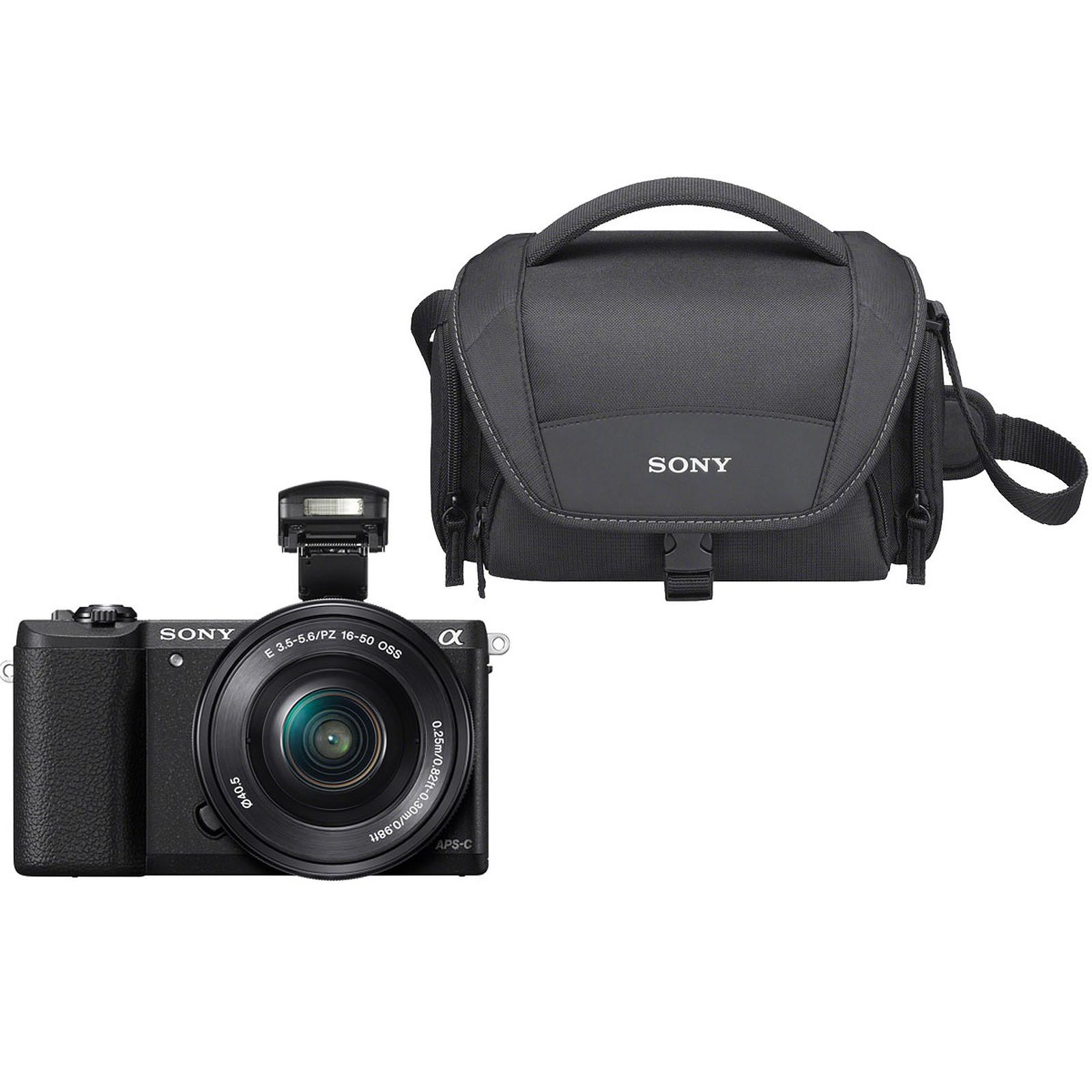 Sony Alpha 5100 + Objectif 16-50 mm Noir + LCS-U21 Noir