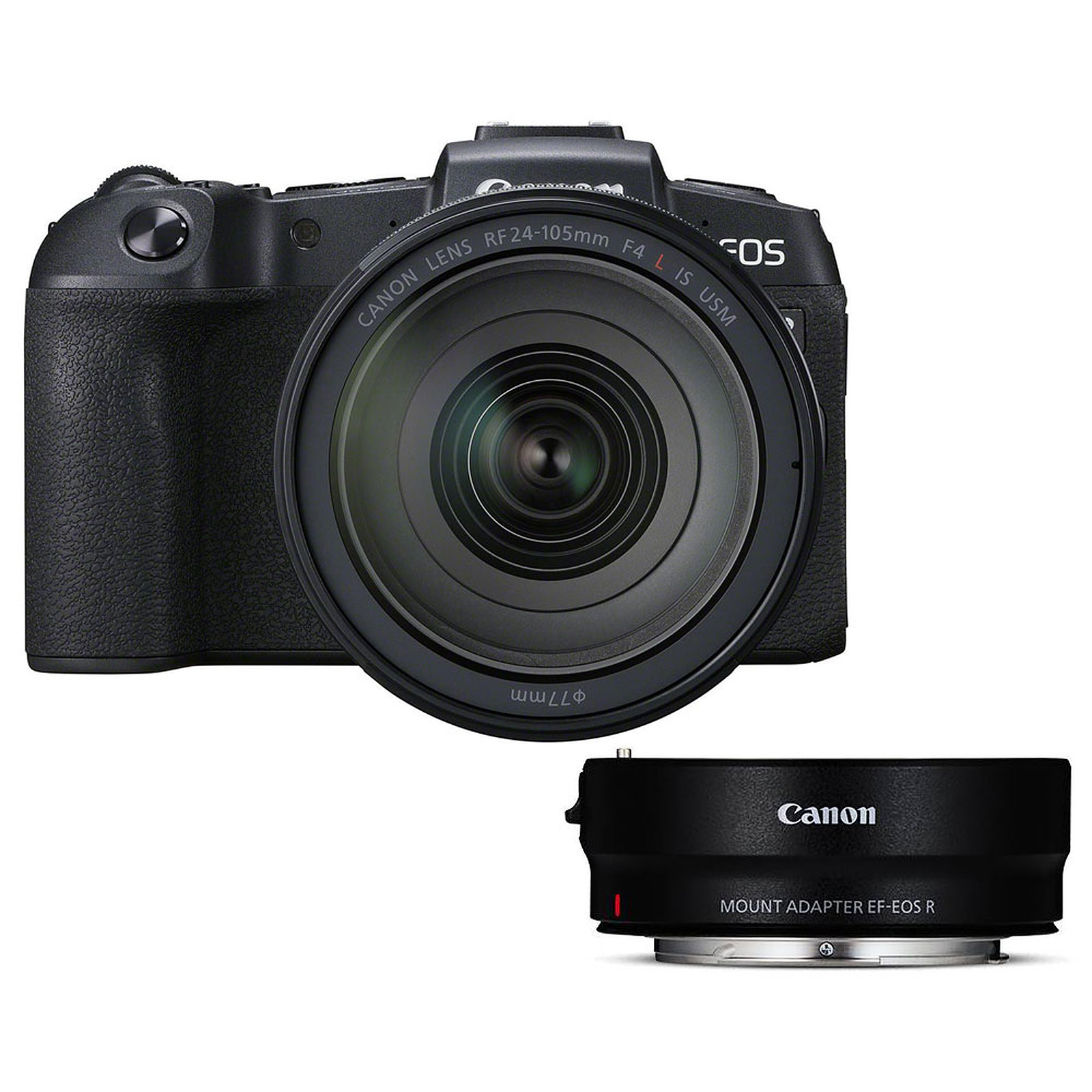 Canon EOS RP + RF 24-105mm f/4L IS USM + EF-EOS R
