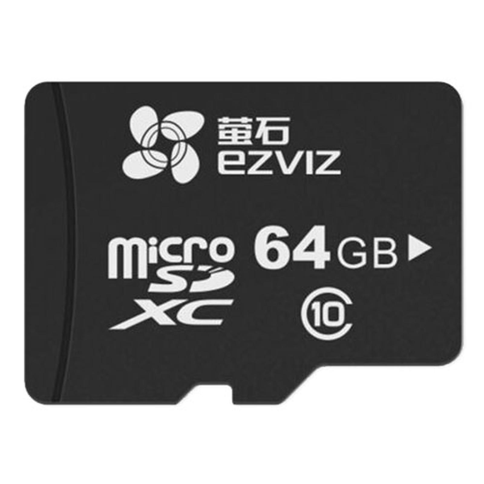 carte sdhc 64 go EZVIZ Carte Micro SDHC 64 Go   Carte mémoire EZVIZ sur LDLC.com