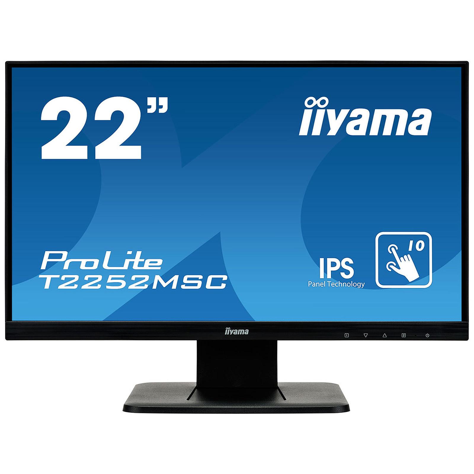 "iiyama 21.5"" LED Tactile - ProLite T2252MSC-B1"