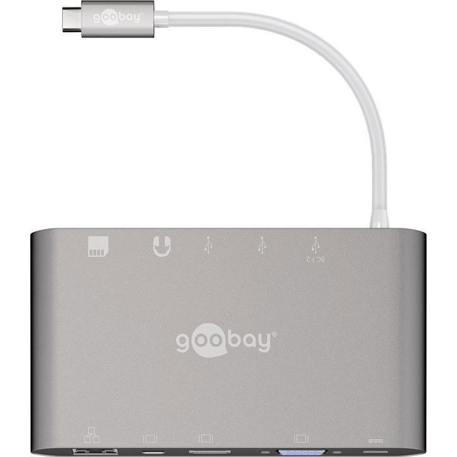 Goobay USB-C All-in-one Multiport Adapter
