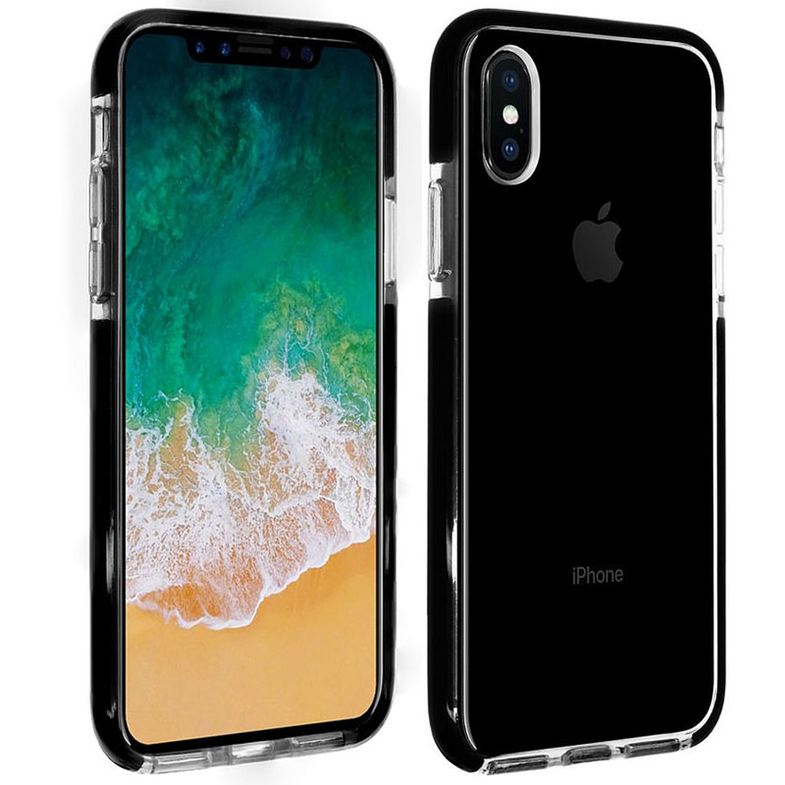1b910ec7866 Akashi Funda TPU Ultra Reforzada iPhone Xs Max Funda de protección  transparente reforzada para Apple iPhone ...