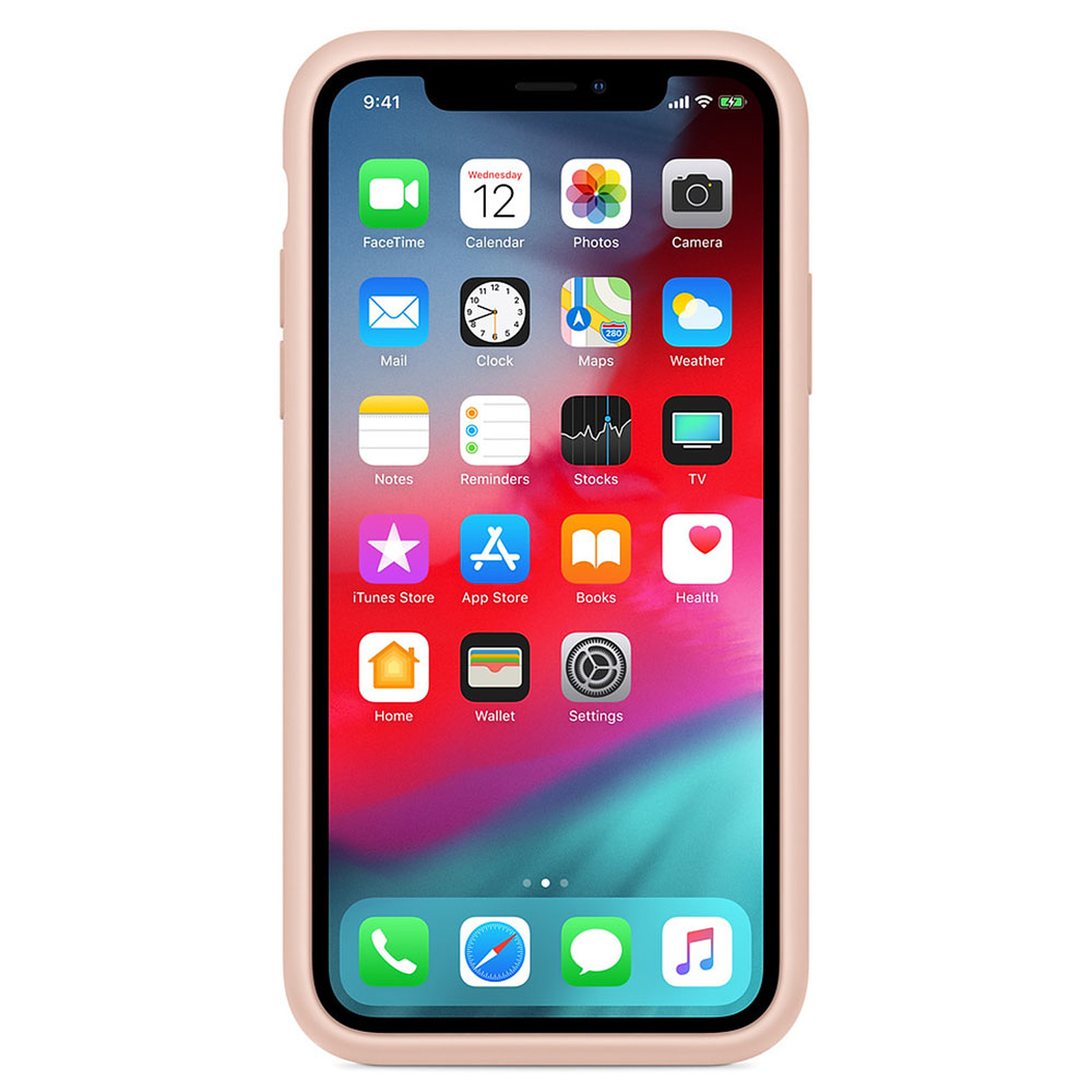 coque iphone xs max rose sable