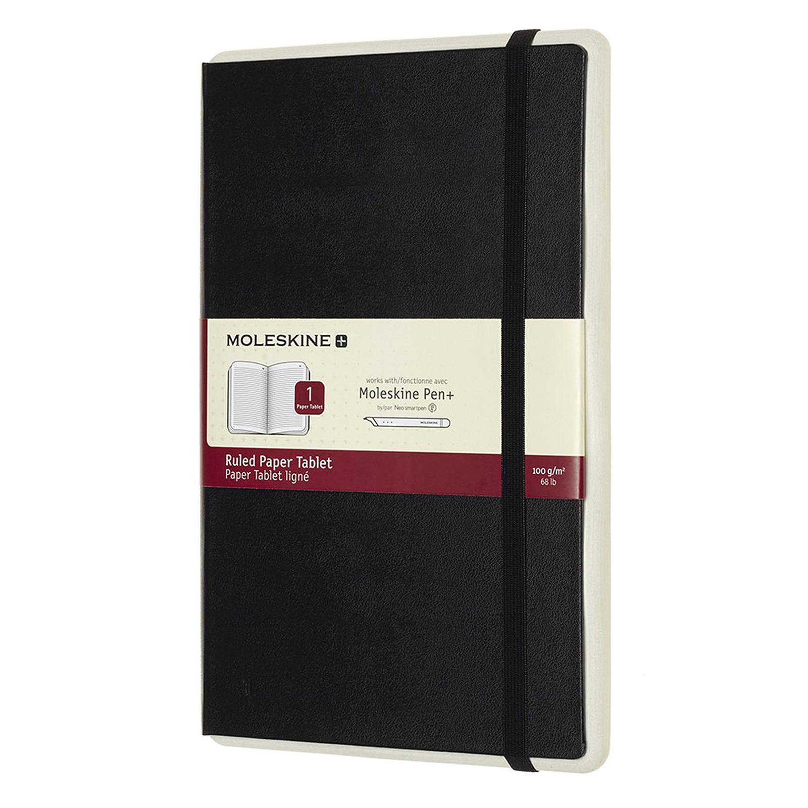 Moleskine Paper Tablet Pages Lignées Noir