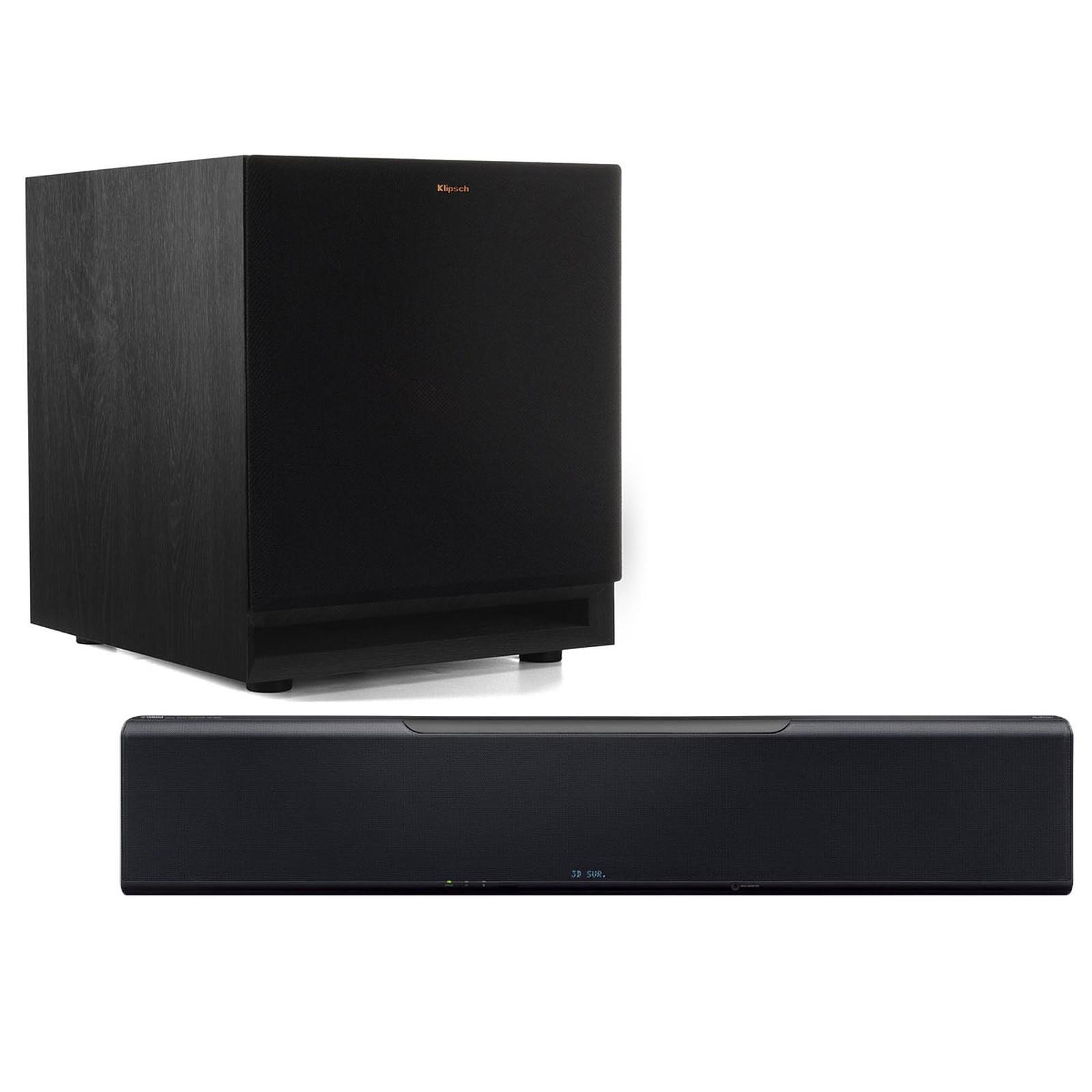 Yamaha MusicCast YSP-5600 + Klipsch SPL-100