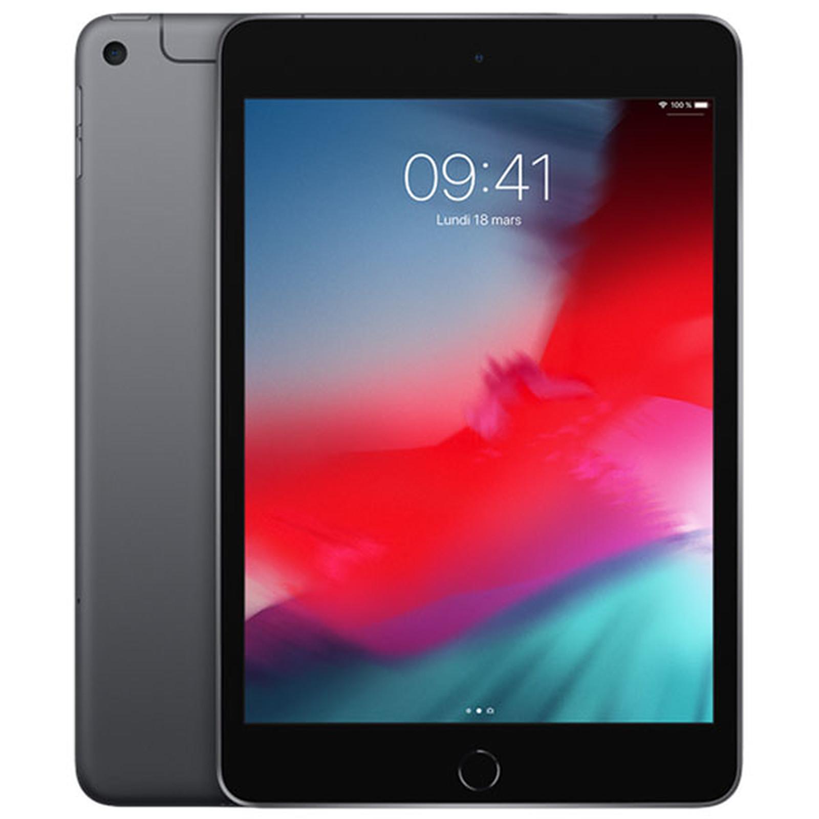 Apple iPad mini 5 Wi-Fi + Cellular 64 Go Gris Sidéral