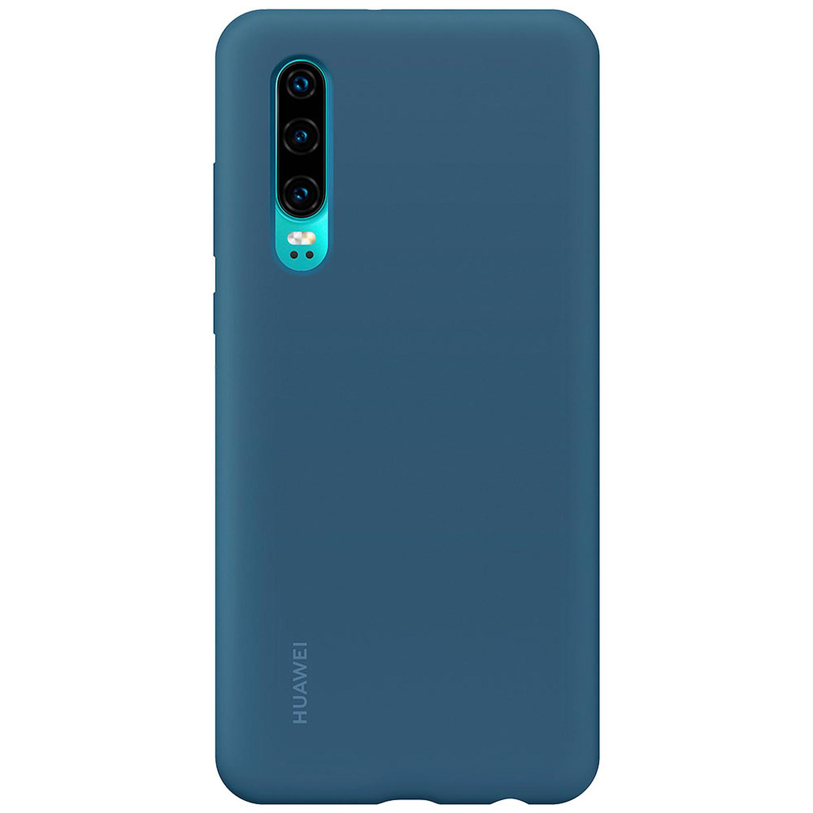 Huawei Silicone Case Aimantée Bleu P30