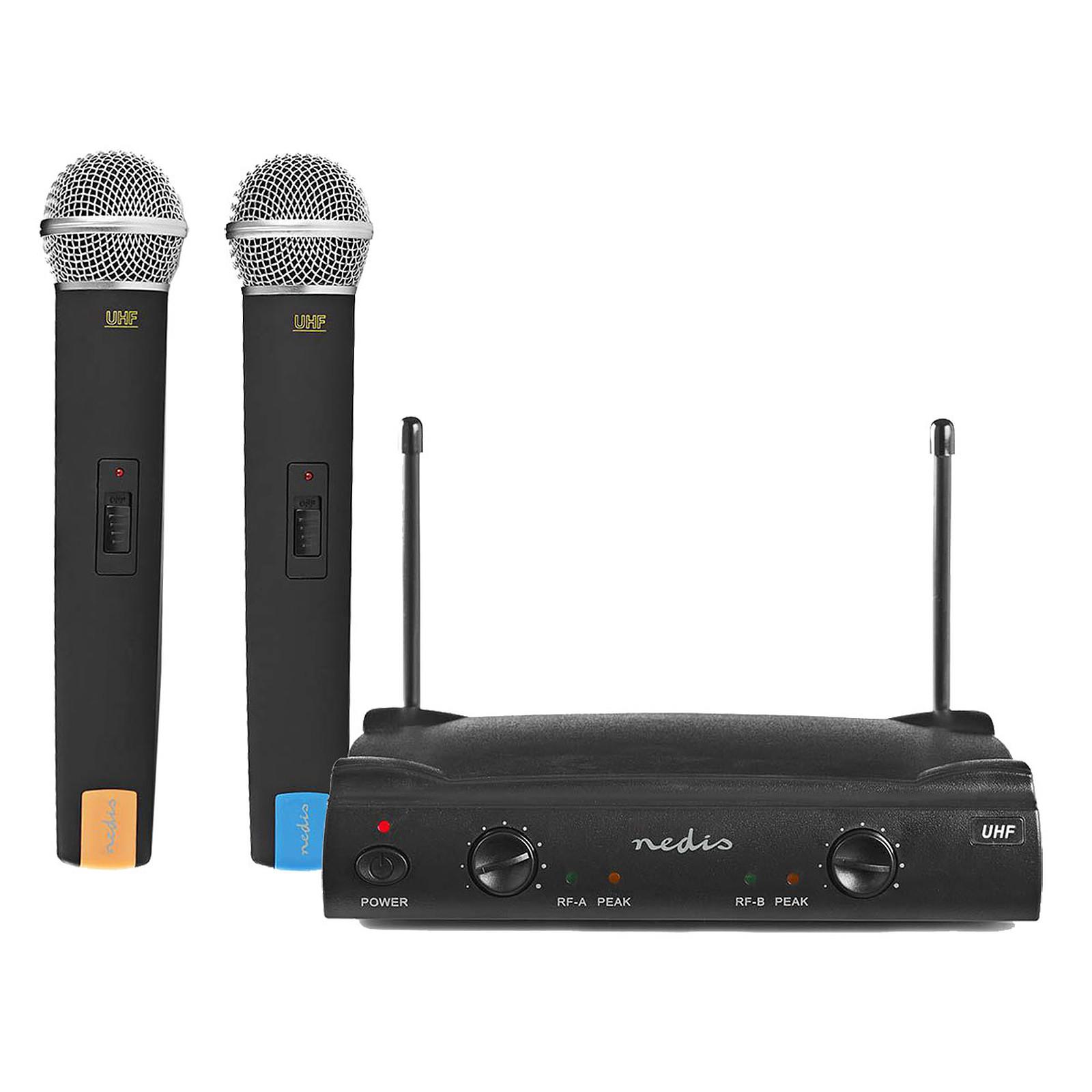 Nedis Kit 2 Microphones Sans Fil