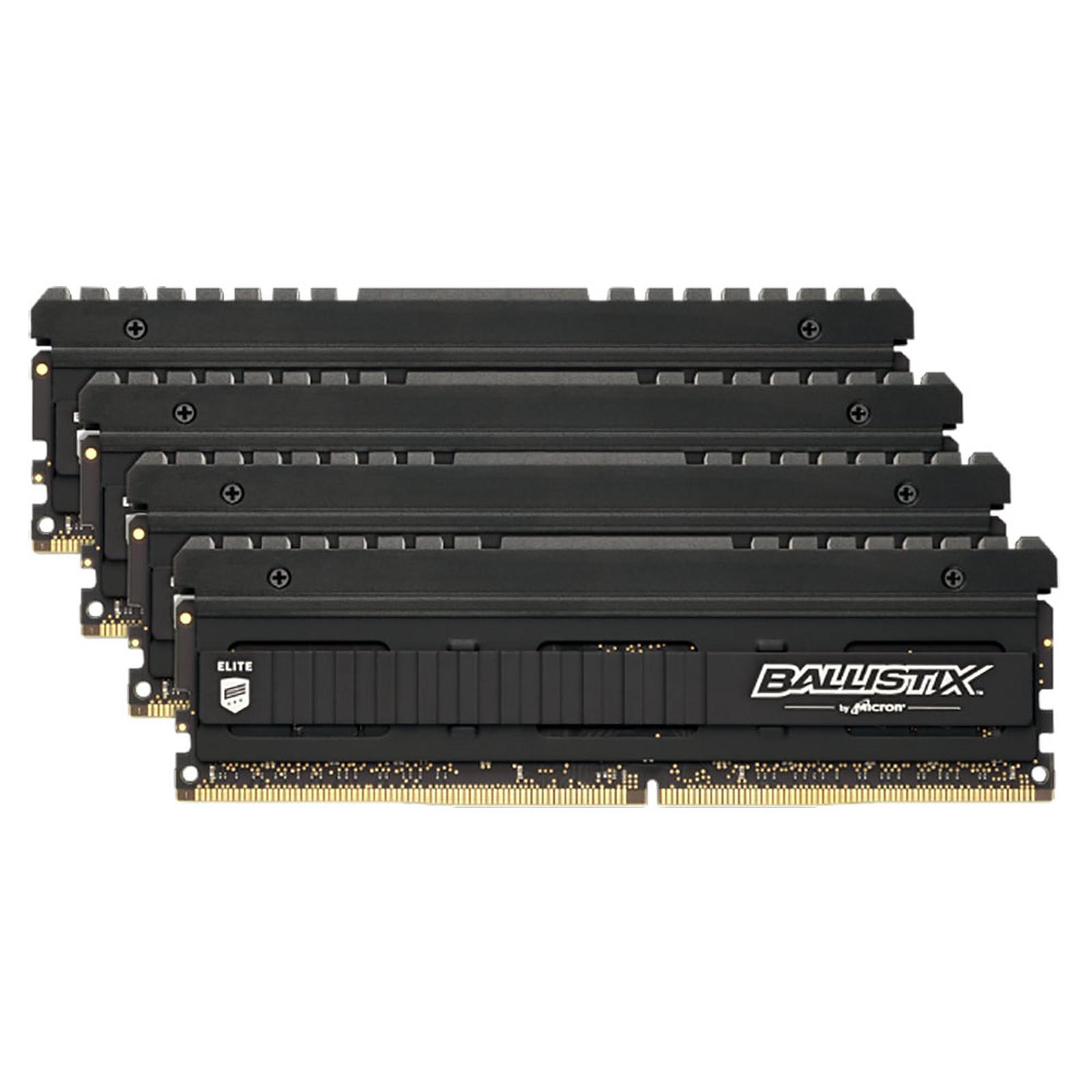 Ballistix Elite 32 Go (4 x 8 Go) DDR4 4000 MHz CL18