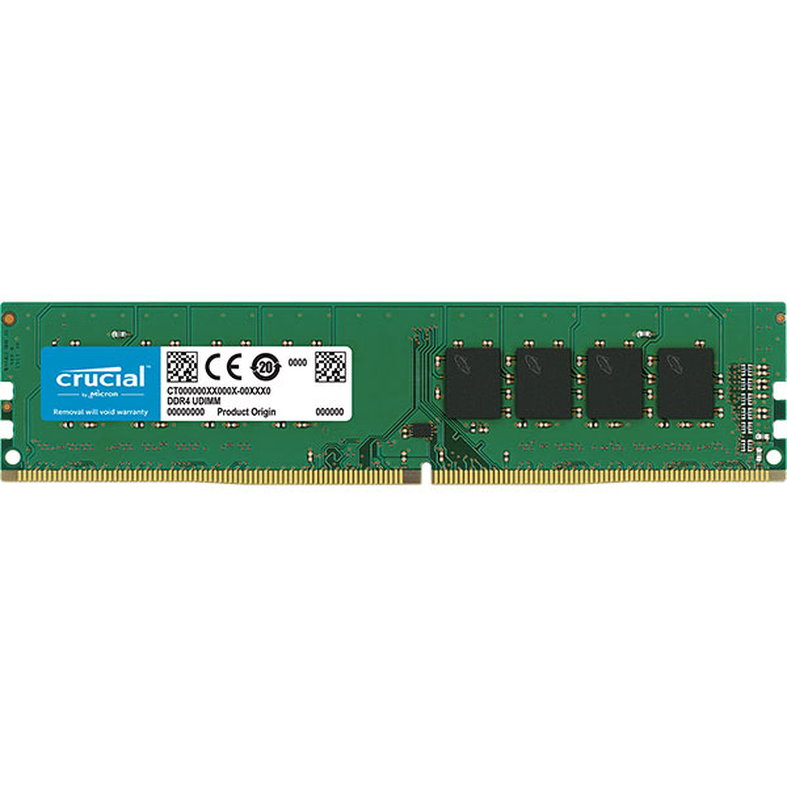 Crucial DDR4 16 Go 3200 MHz CL22 DR X8
