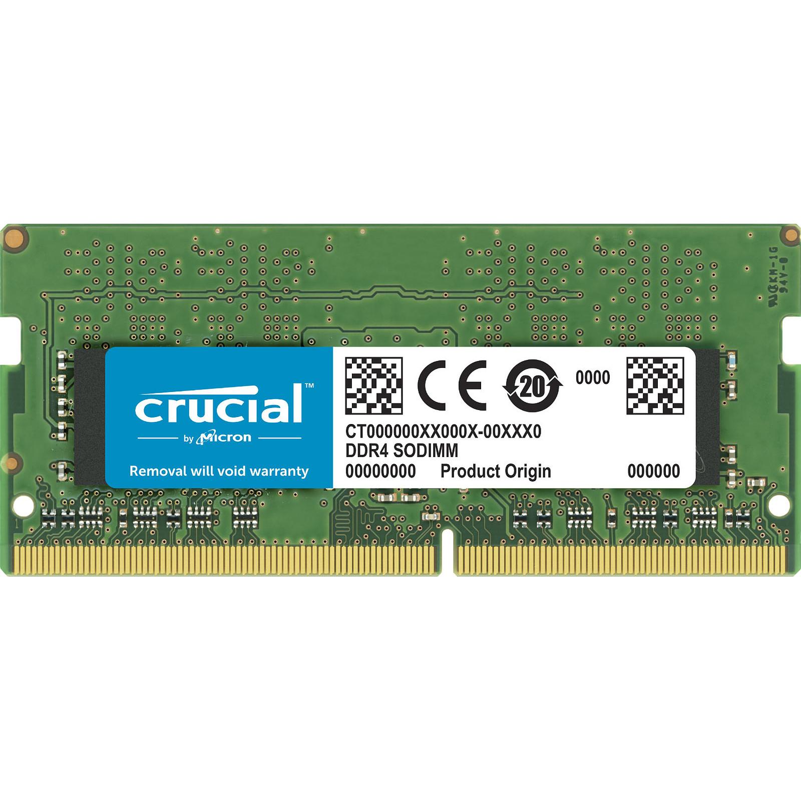 Crucial SO-DIMM DDR4 4GB 3200 MHz CL22 SR X16