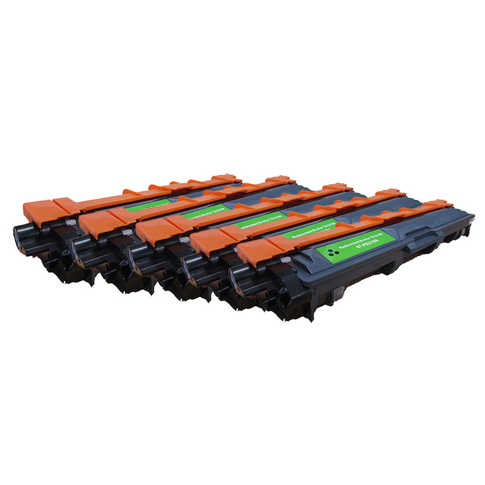 Toner compatible TN-241BK Noir x5