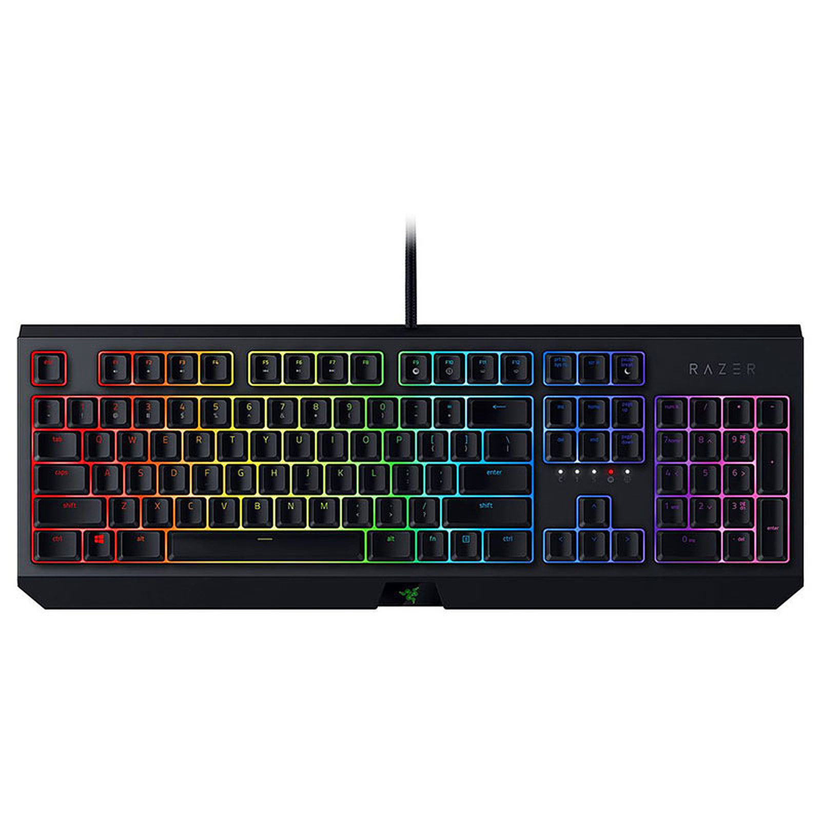 Razer BlackWidow 2019 (switches Razer Green)
