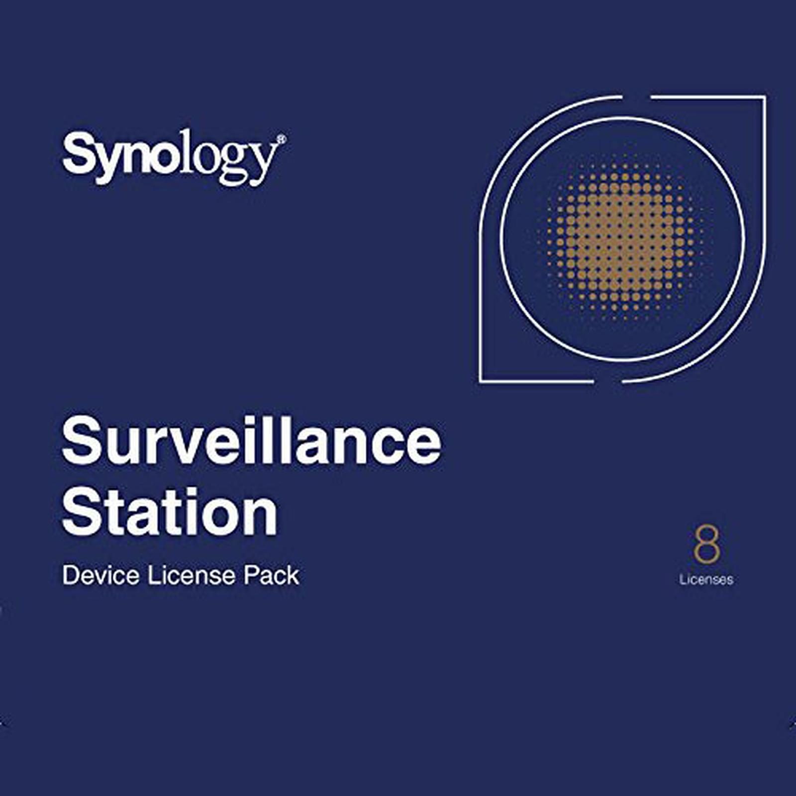 Synology Pack 8 licences pour caméras supplémentaires