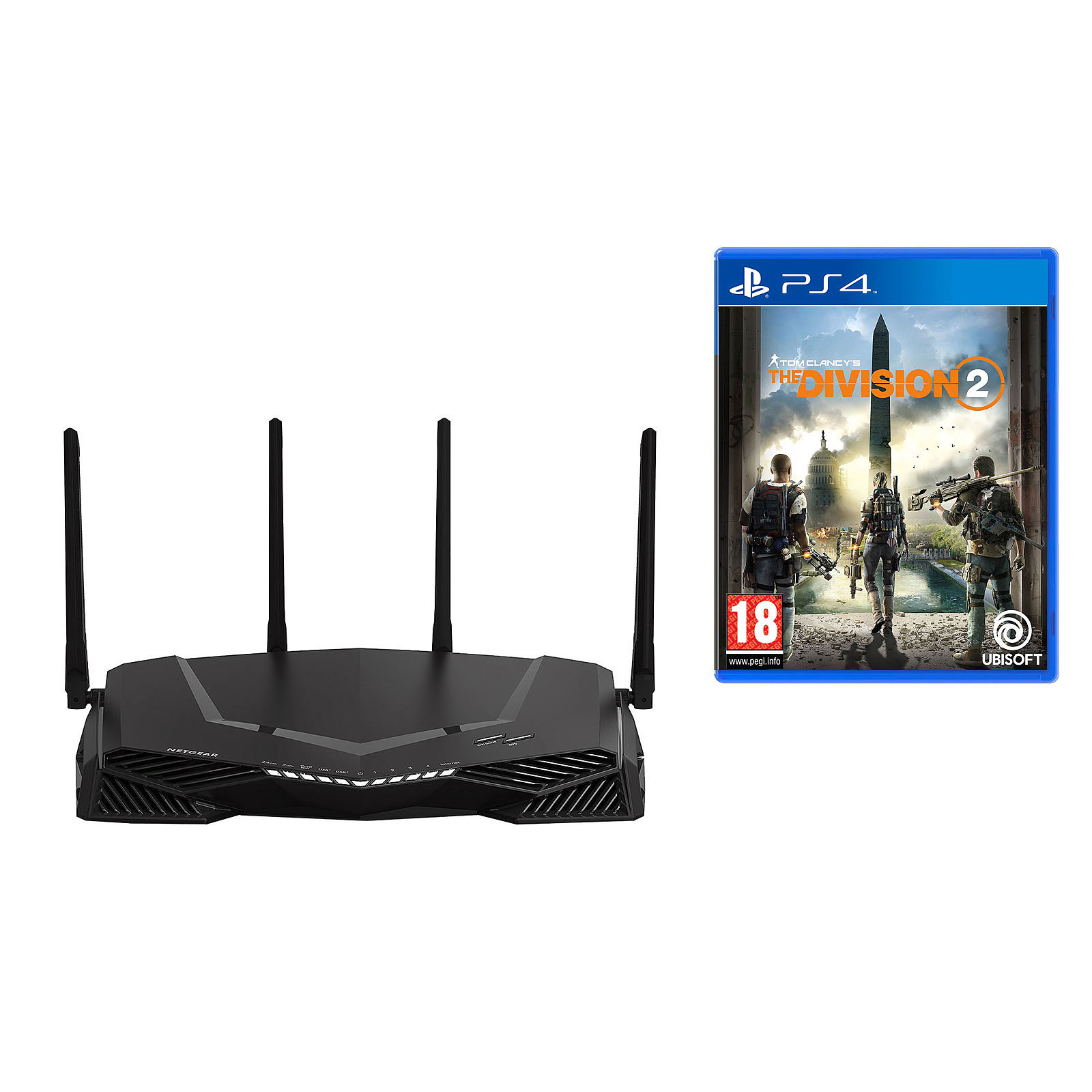 Netgear Nighthawk Pro Gaming XR500 + The Division 2 (PS4)