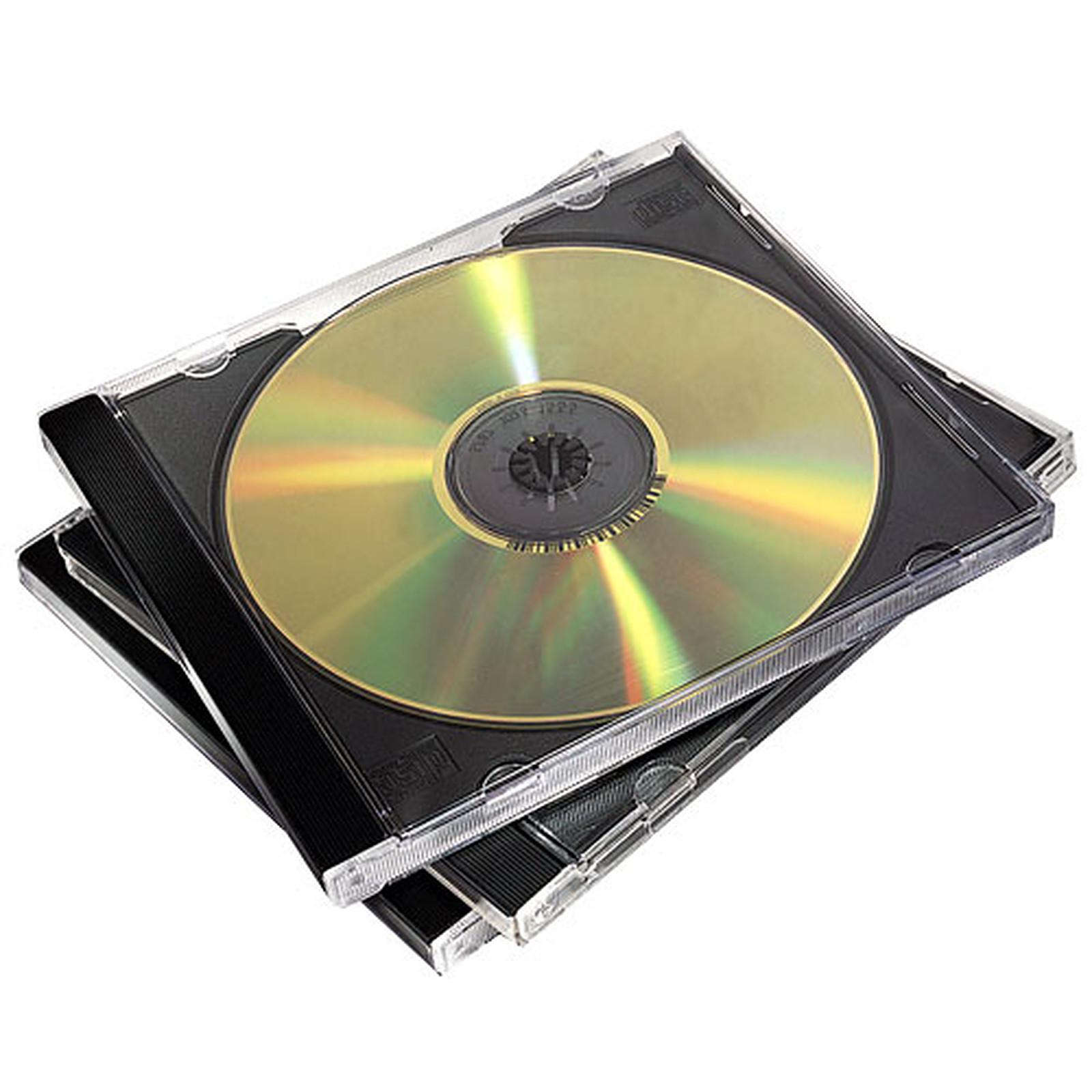 Fellowes 5 Cajas Dobles para CD