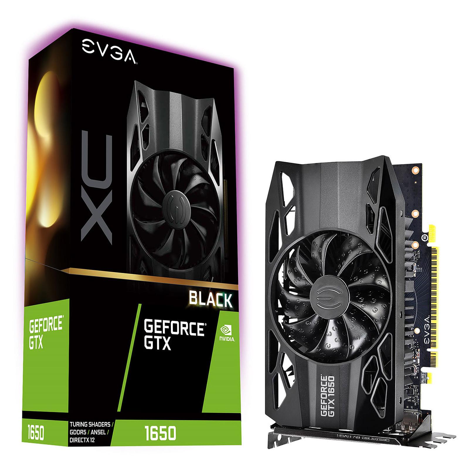 EVGA GeForce GTX 1650 XC Black