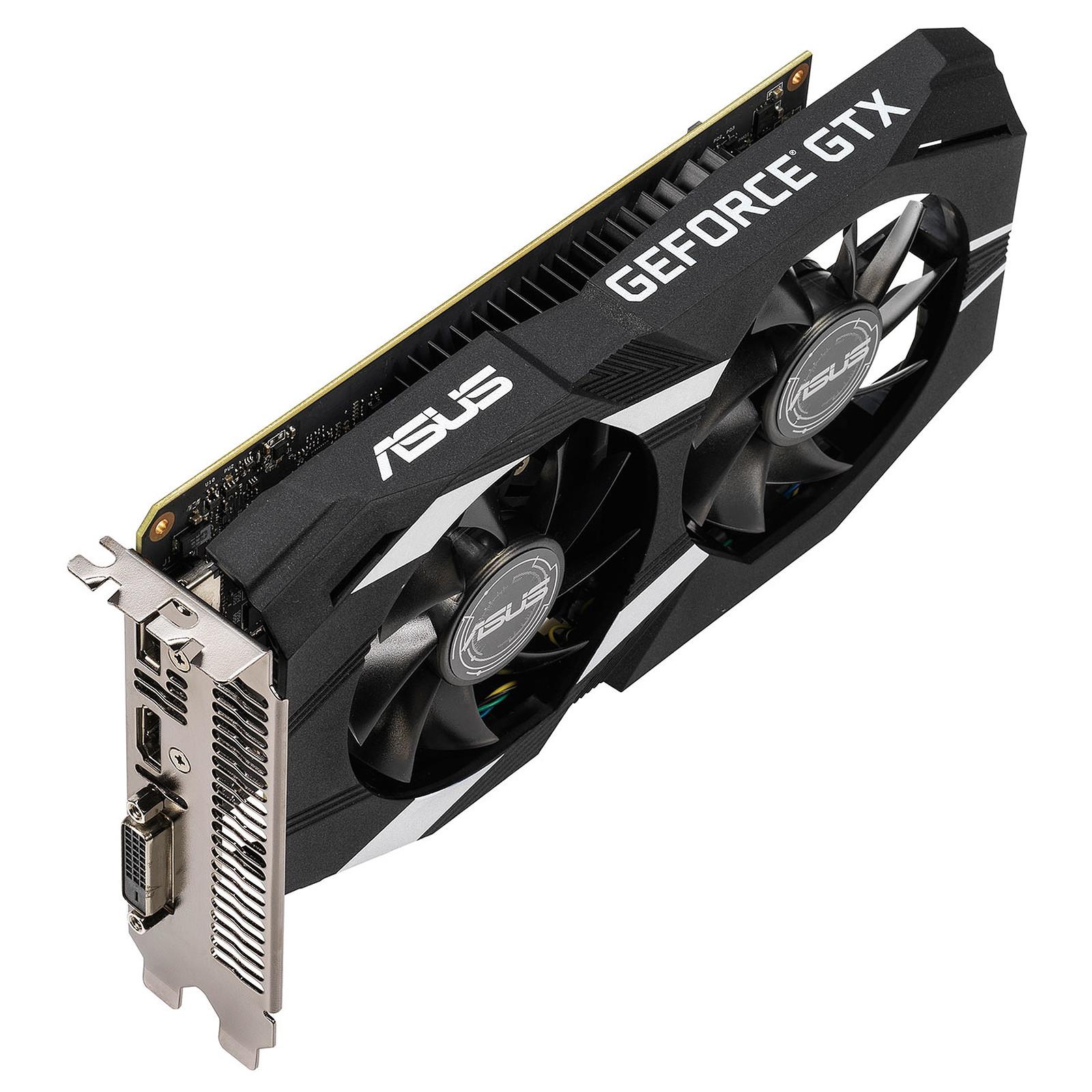 ASUS GeForce GTX 1650 DUAL-GTX1650-4G - Carte graphique ...