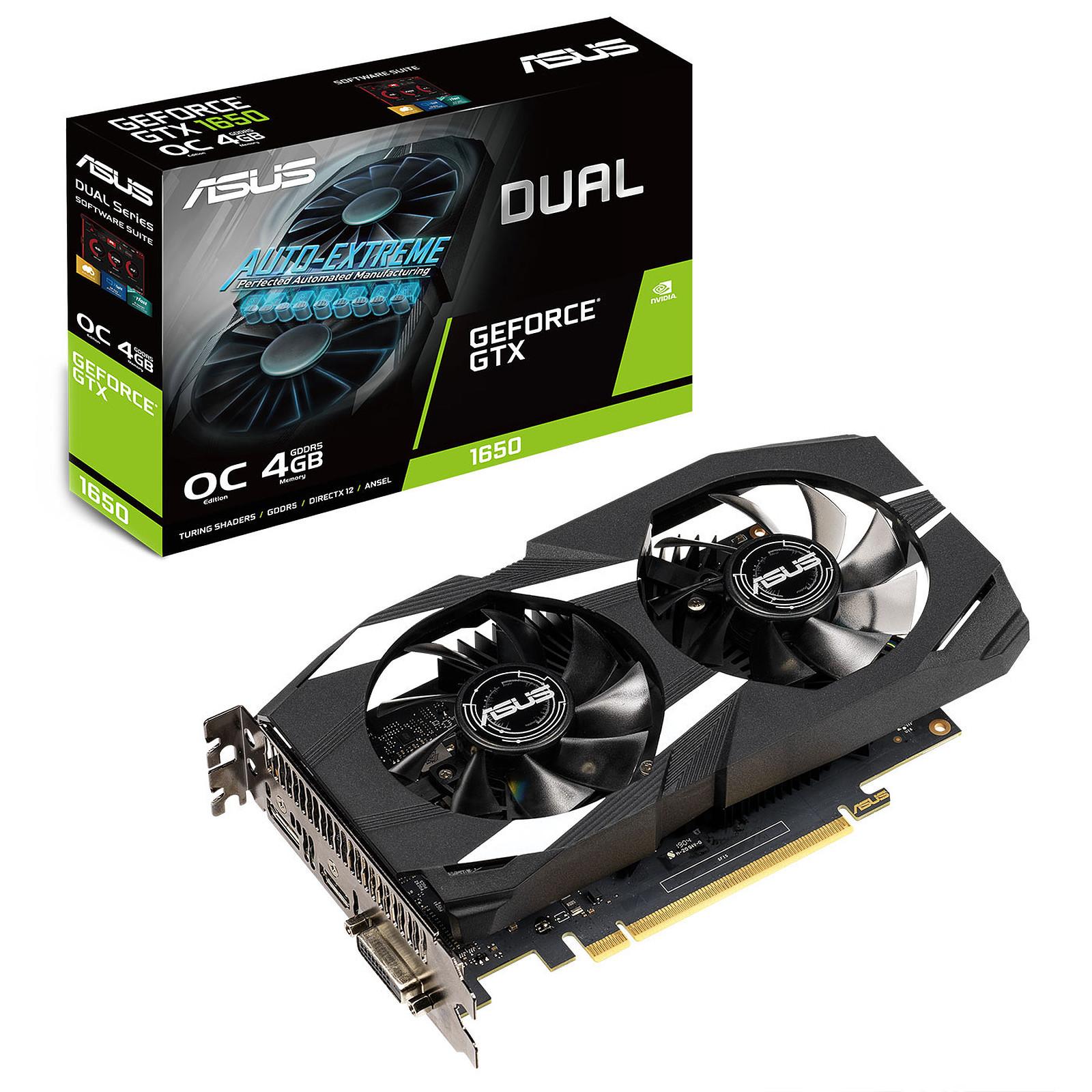 ASUS GeForce GTX 1650 DUAL-GTX1650-O4G