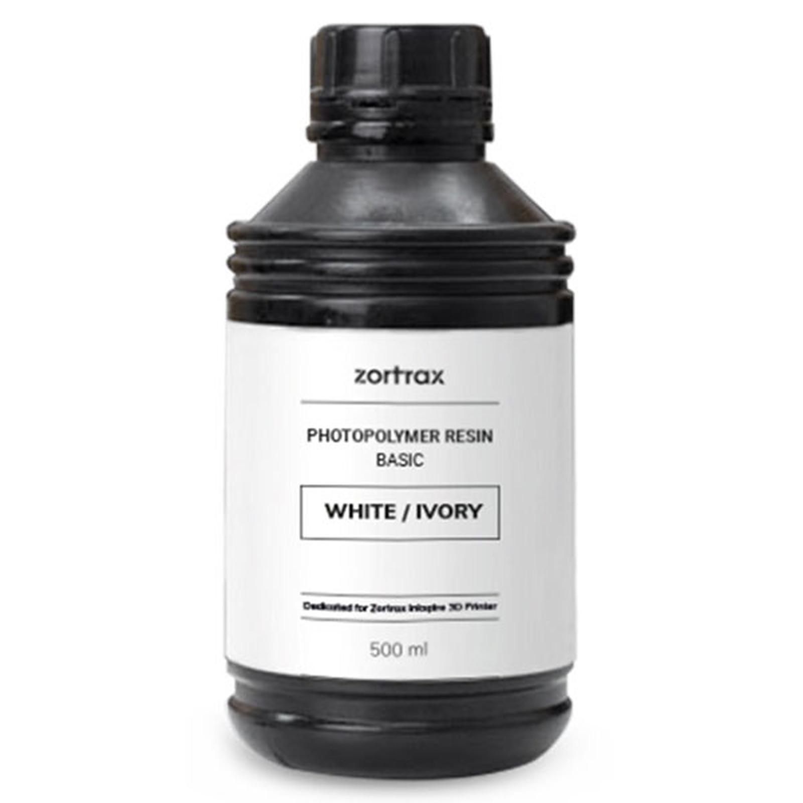 Zortrax Inkspire Resin Basic Blanco / Marfil