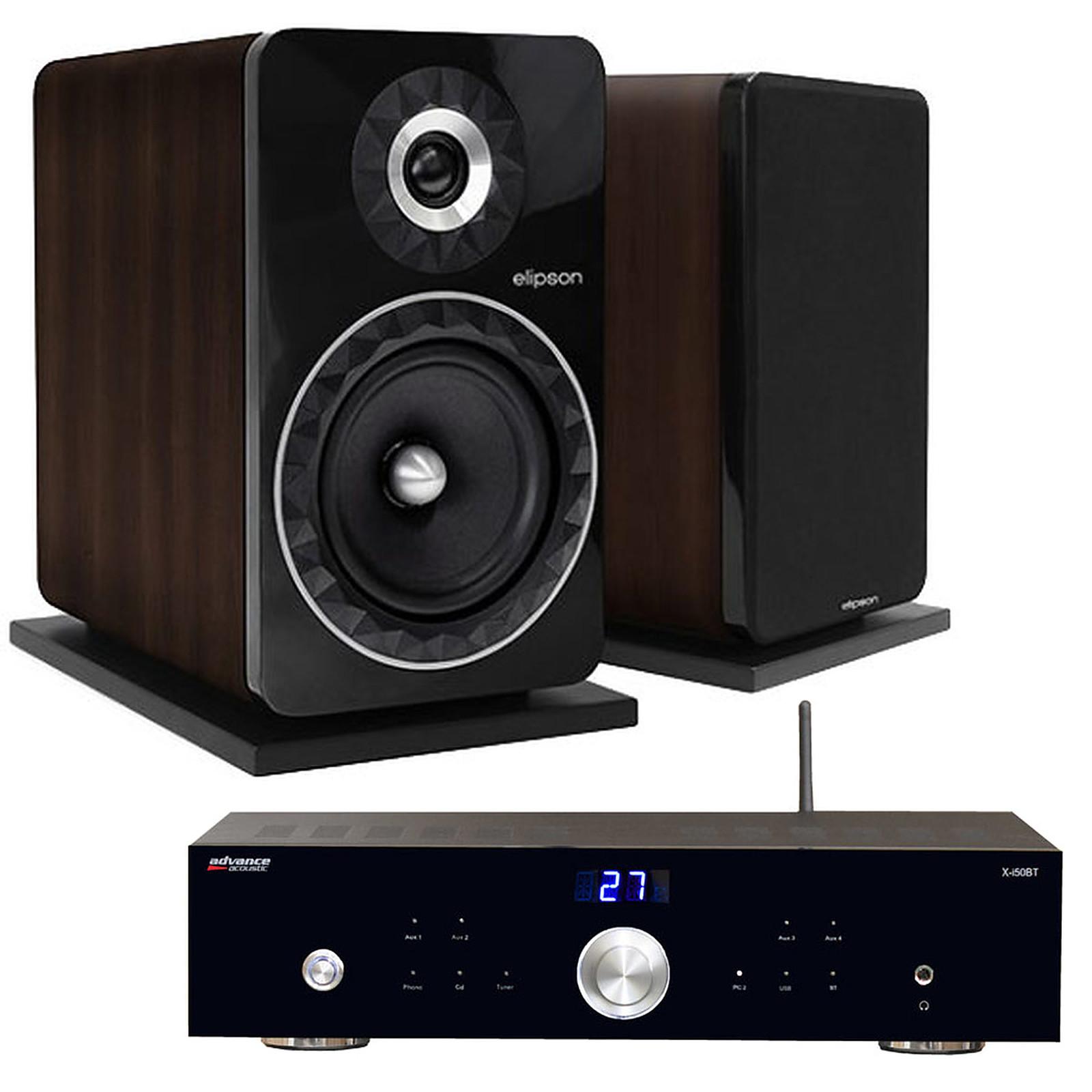 Advance Acoustic X-i50BT + Elipson Prestige Facet 8B Noyer