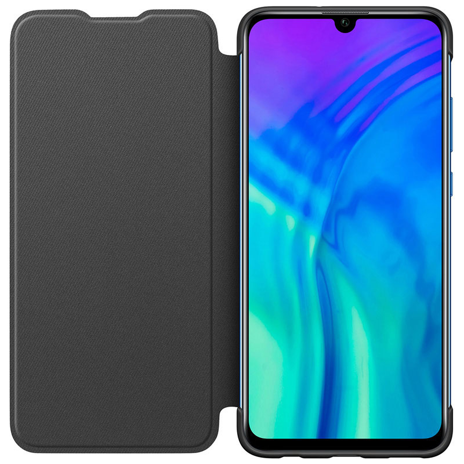 Honor Flip Cover Noir Honor 20 Lite